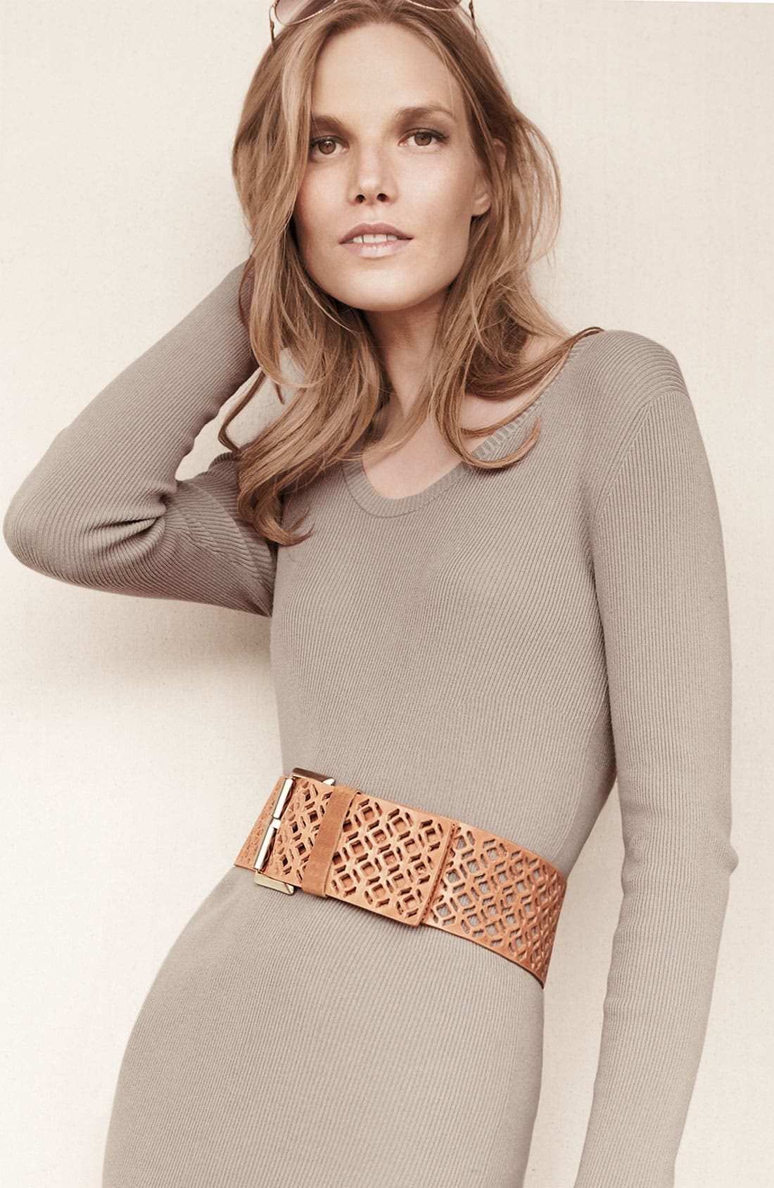 Alternate Image 2  - Vince Camuto Roller Buckle Belt