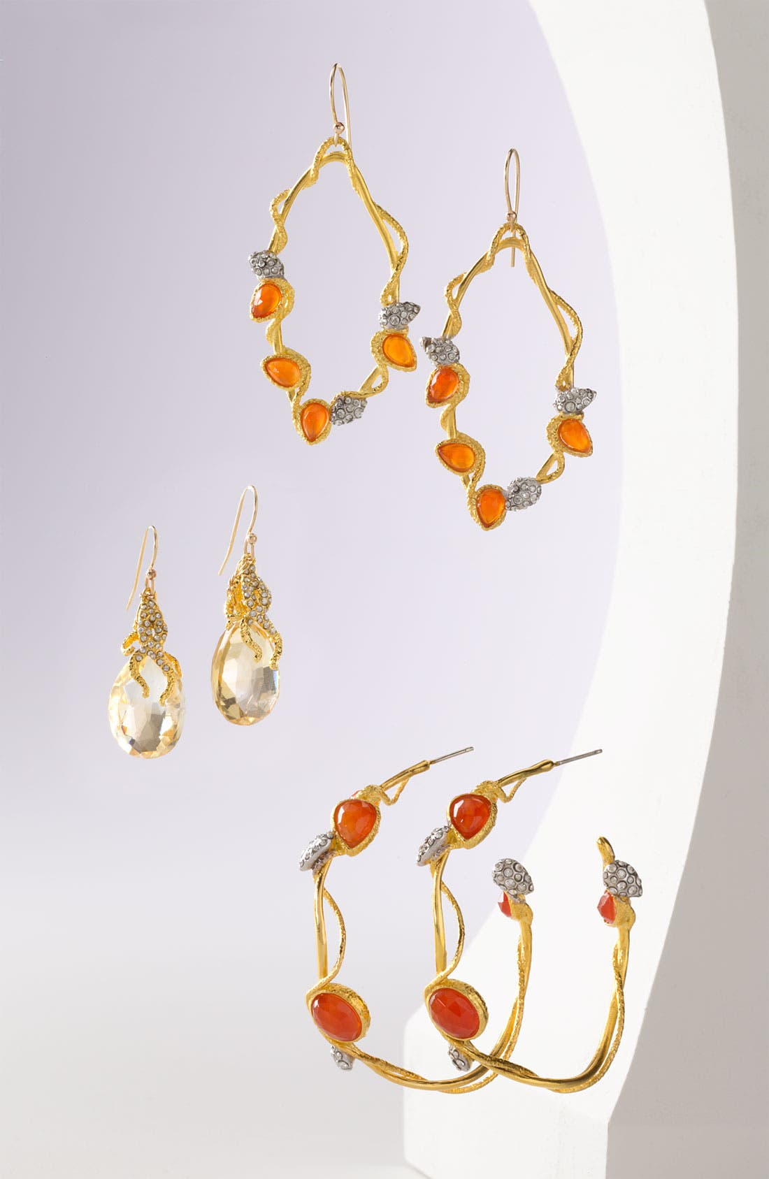 Alternate Image 2  - Alexis Bittar 'Elements' Pavé Vine Teardrop Earrings (Nordstrom Exclusive)