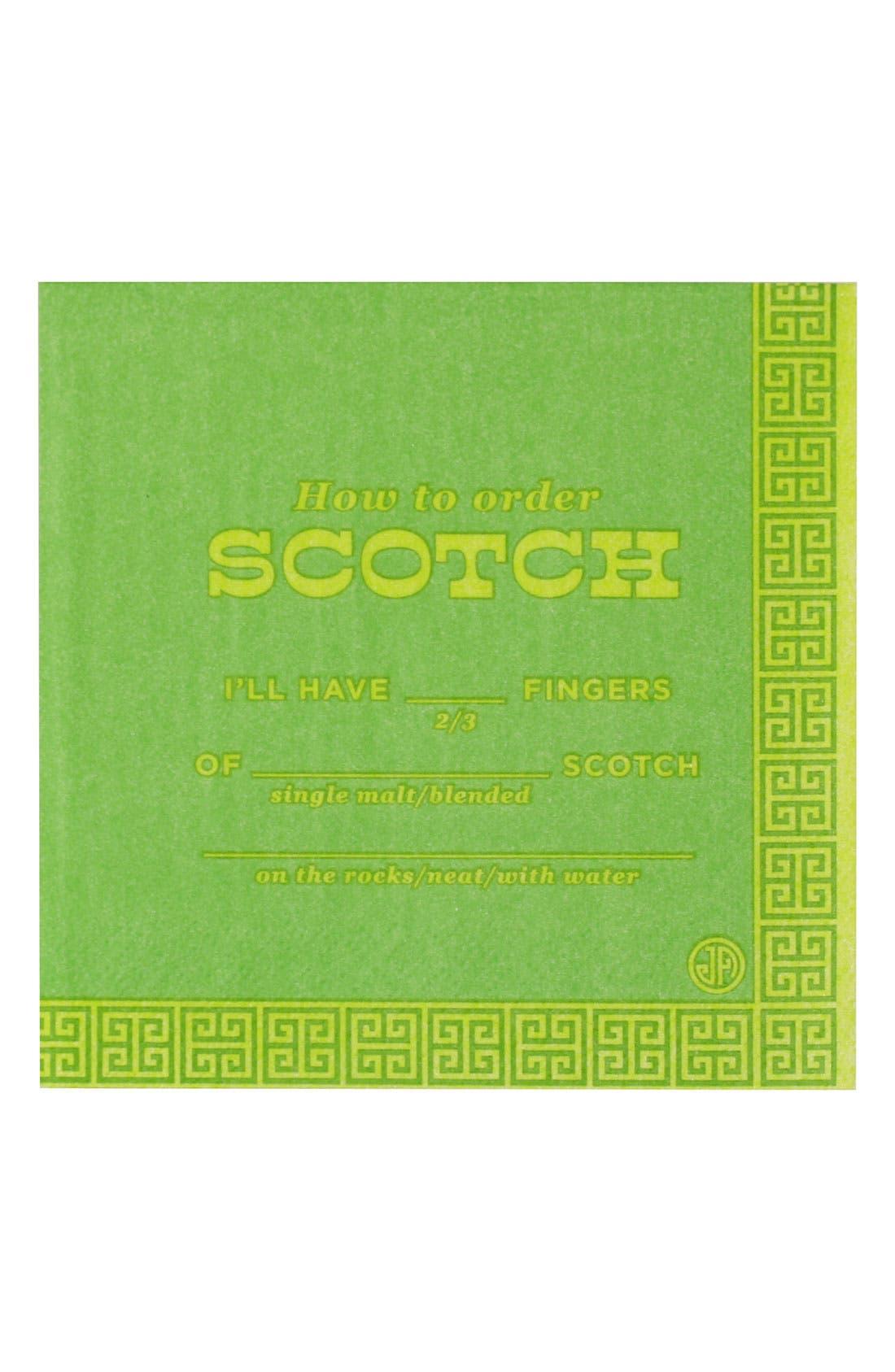 Alternate Image 1 Selected - Jonathan Adler 'Scotch' Cocktail Napkins