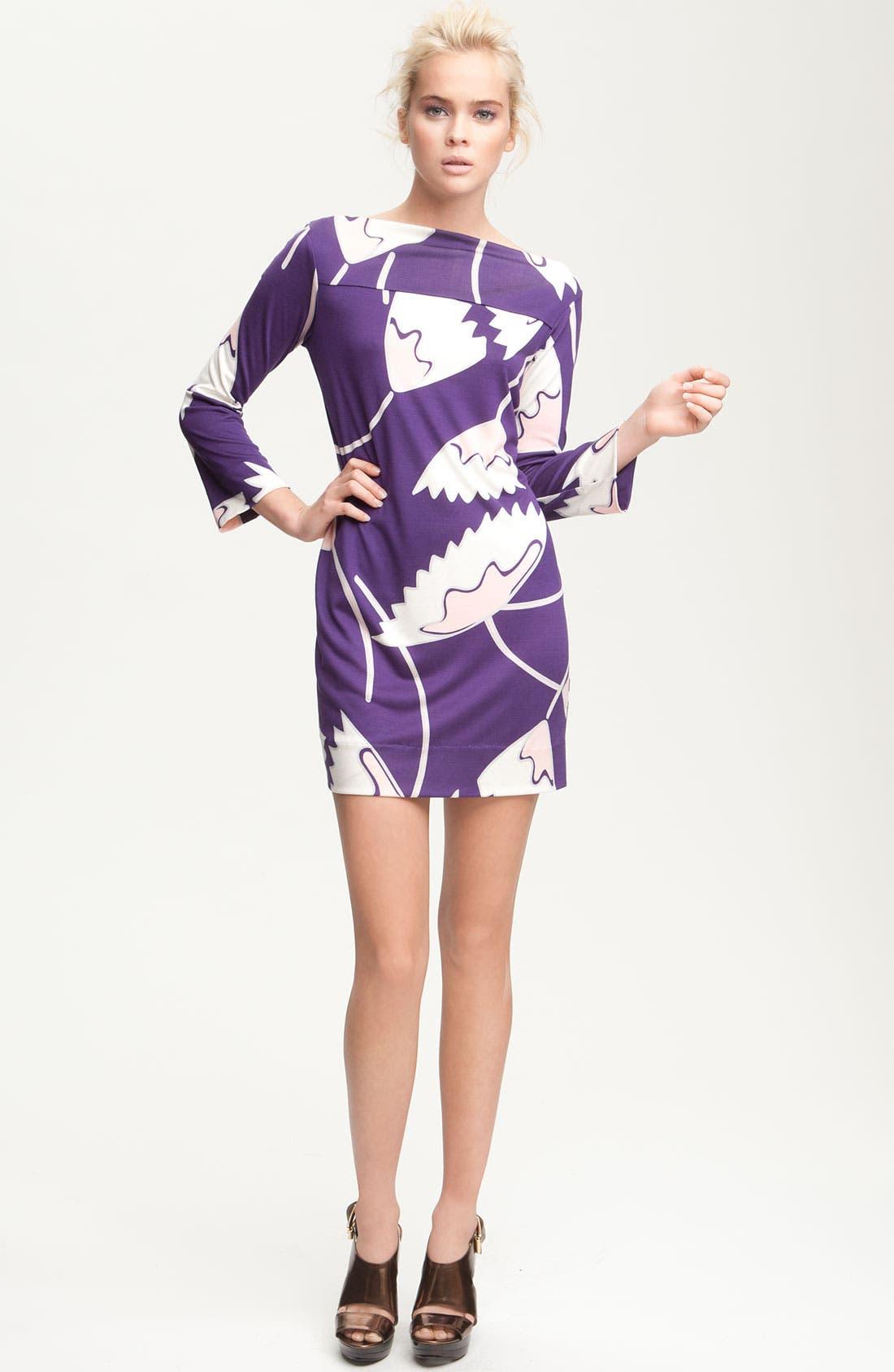 Alternate Image 3  - Diane von Furstenberg 'Ruri' Print Silk Minidress