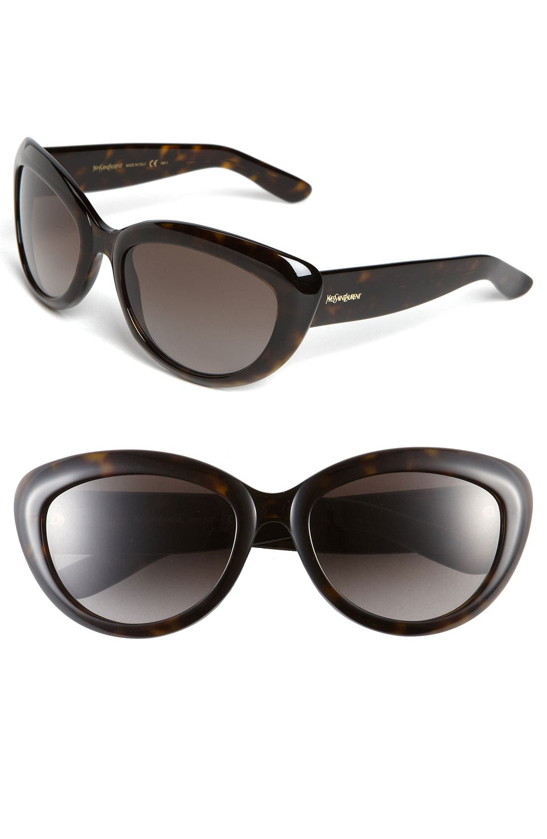 Main Image - Yves Saint Laurent 56mm Cat's Eye Sunglasses