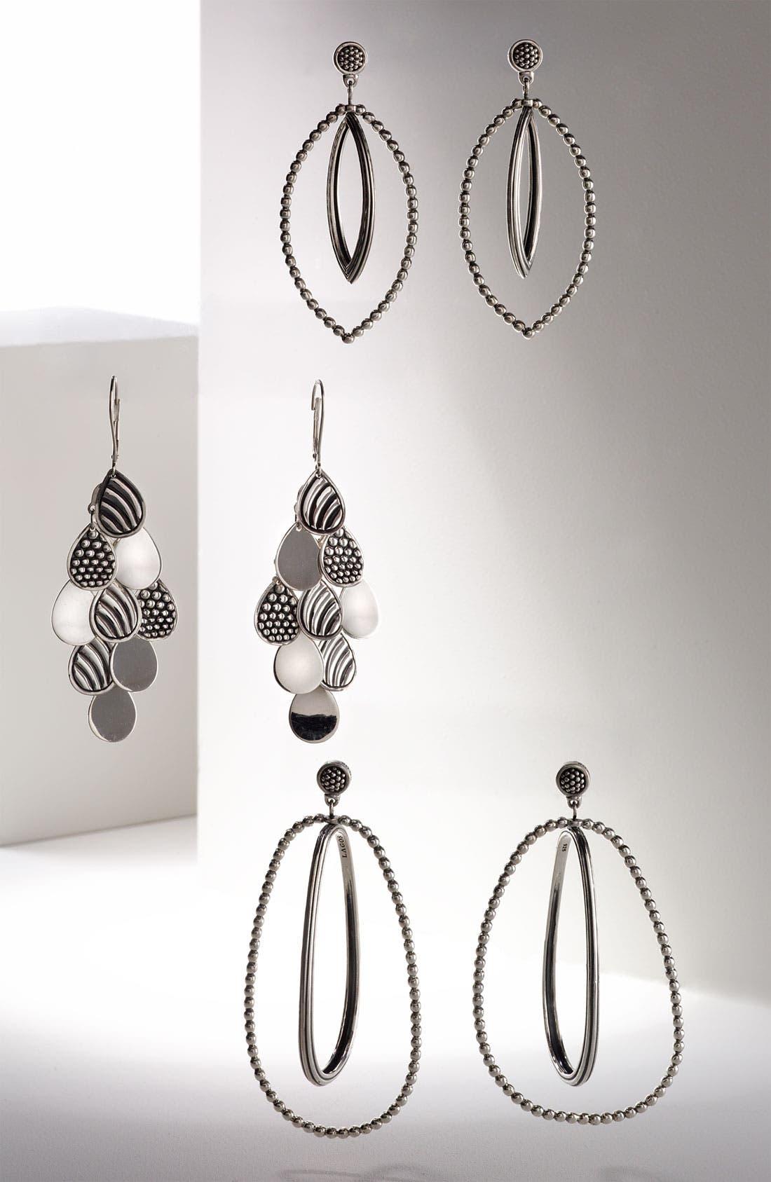 Alternate Image 3  - LAGOS Caviar Oval Twist Statement Earrings