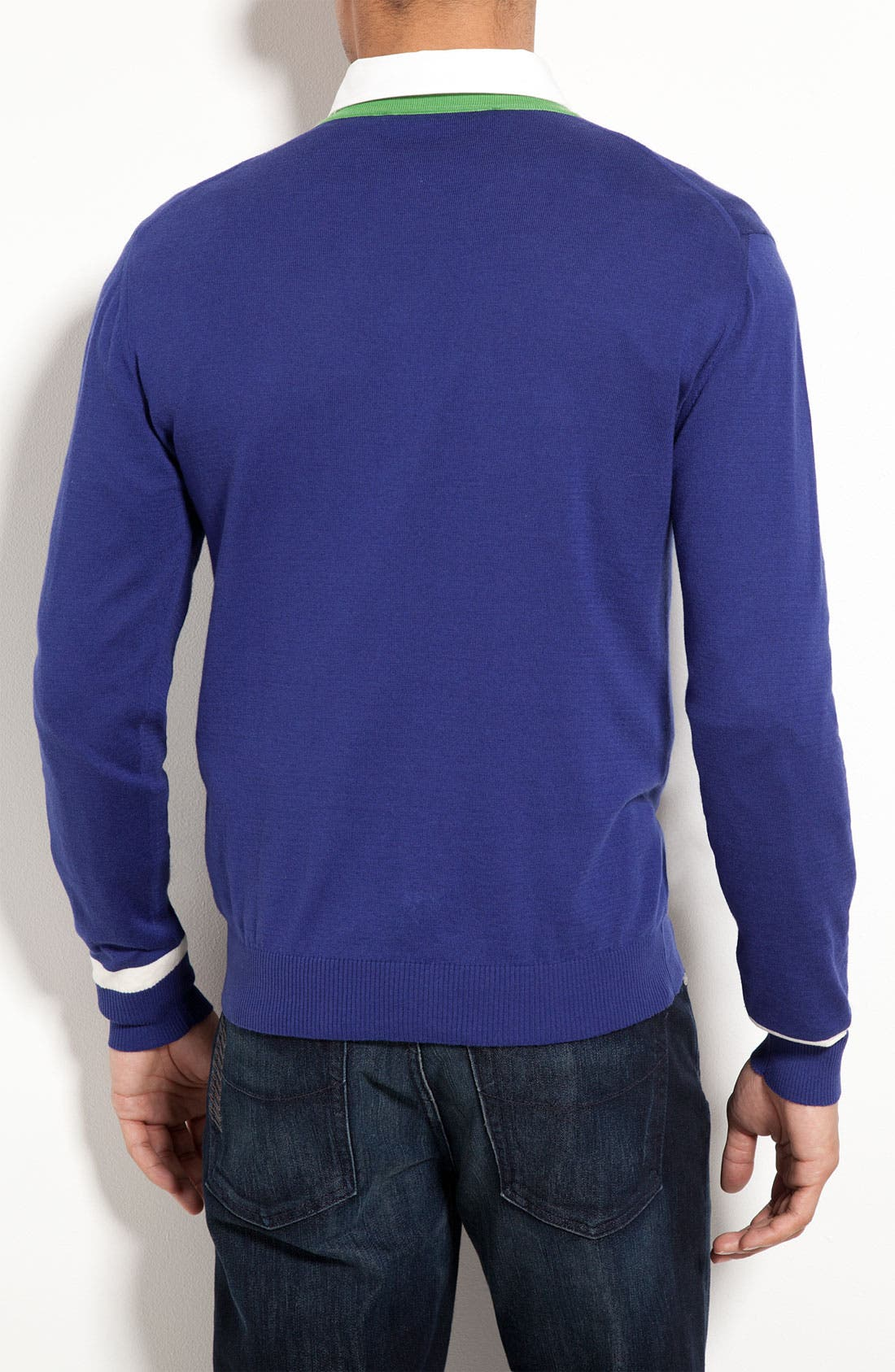 Alternate Image 2  - Etro V-Neck Sweater