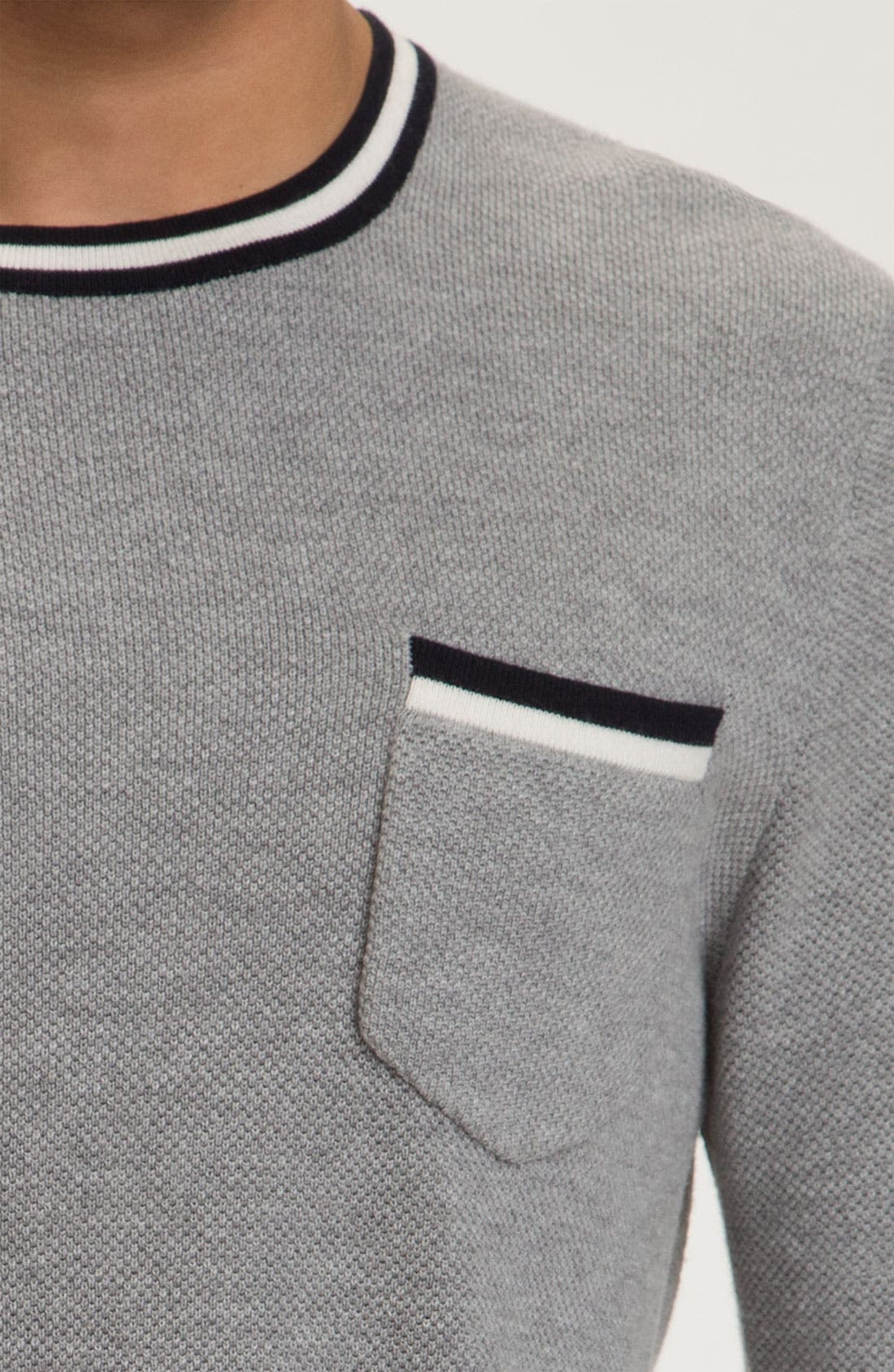 Alternate Image 3  - rag & bone 'Franklin' Crewneck Sweater