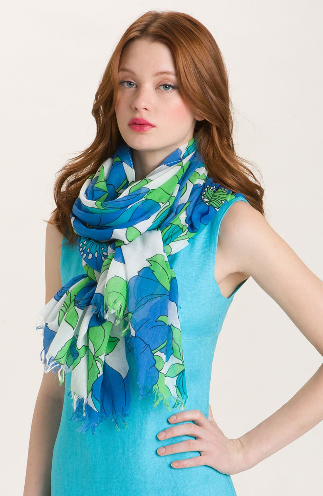 Alternate Image 1 Selected - kate spade new york 'garden society' scarf