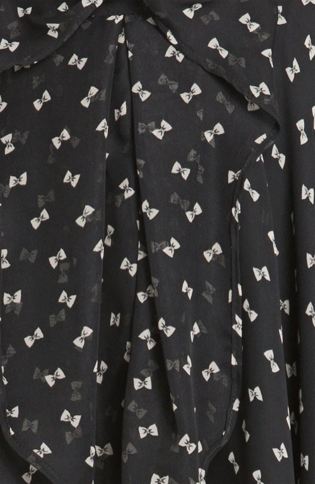 Alternate Image 3  - Lily White Chiffon Skirt (Juniors)