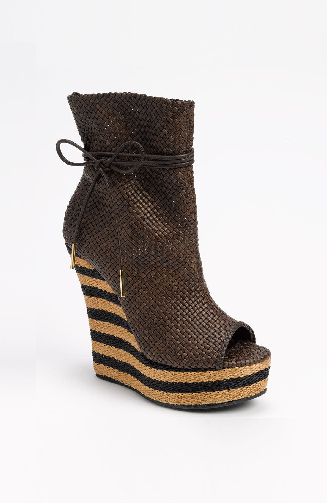 Main Image - Burberry Peep Toe Boot