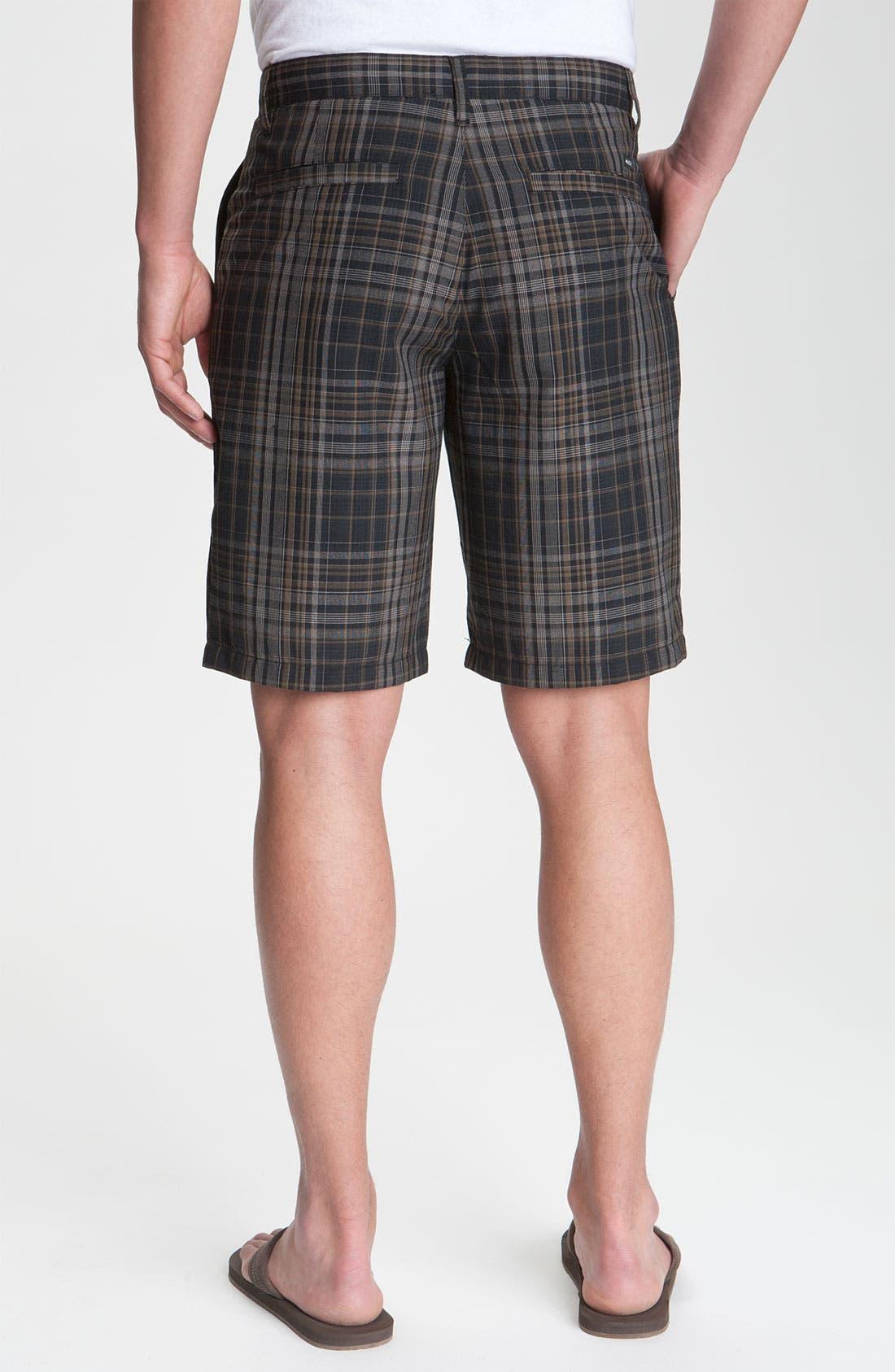 Alternate Image 2  - RVCA 'Delta' Plaid Shorts