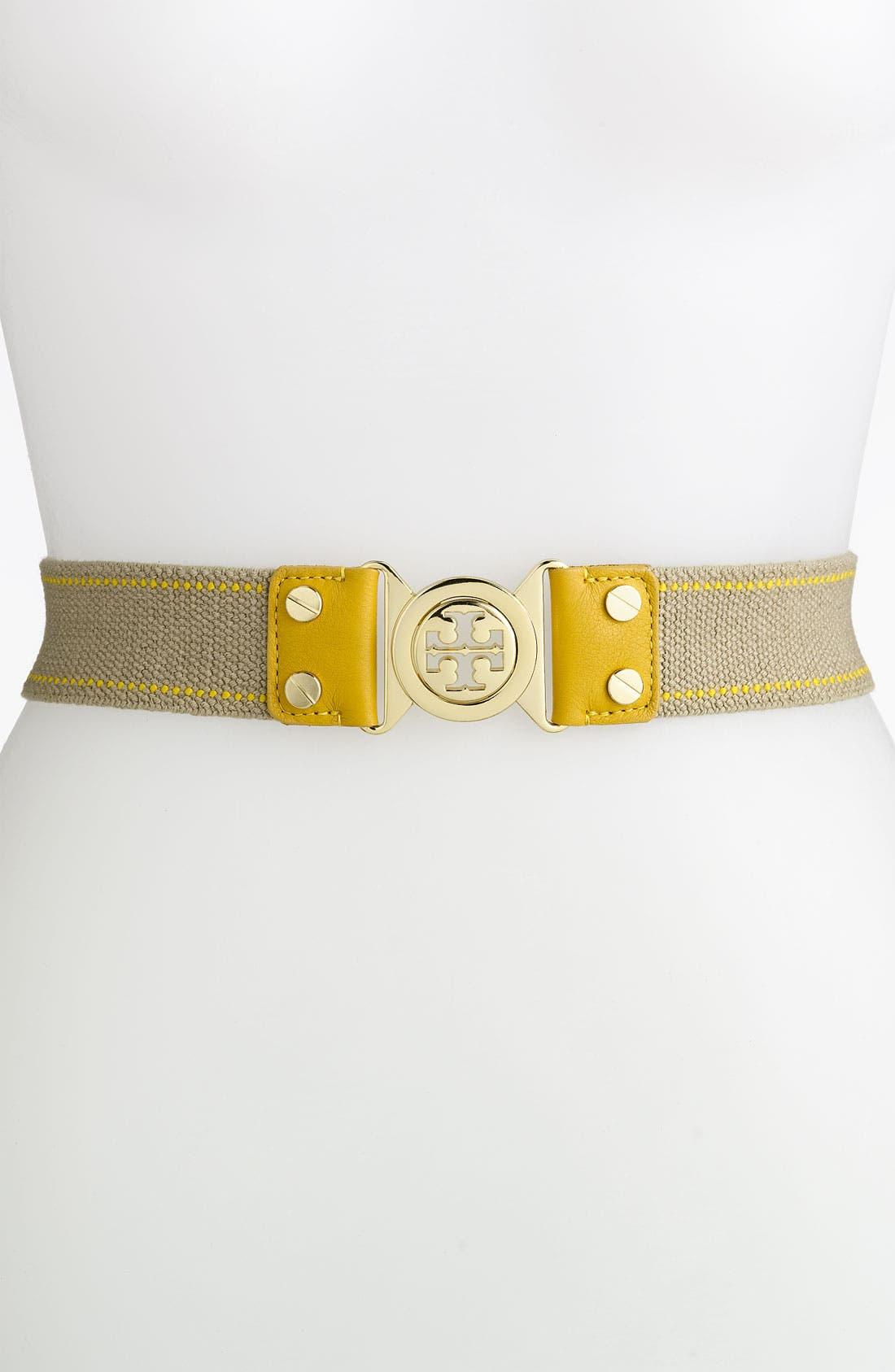 Main Image - Tory Burch 'Stretch Interlocking' Belt