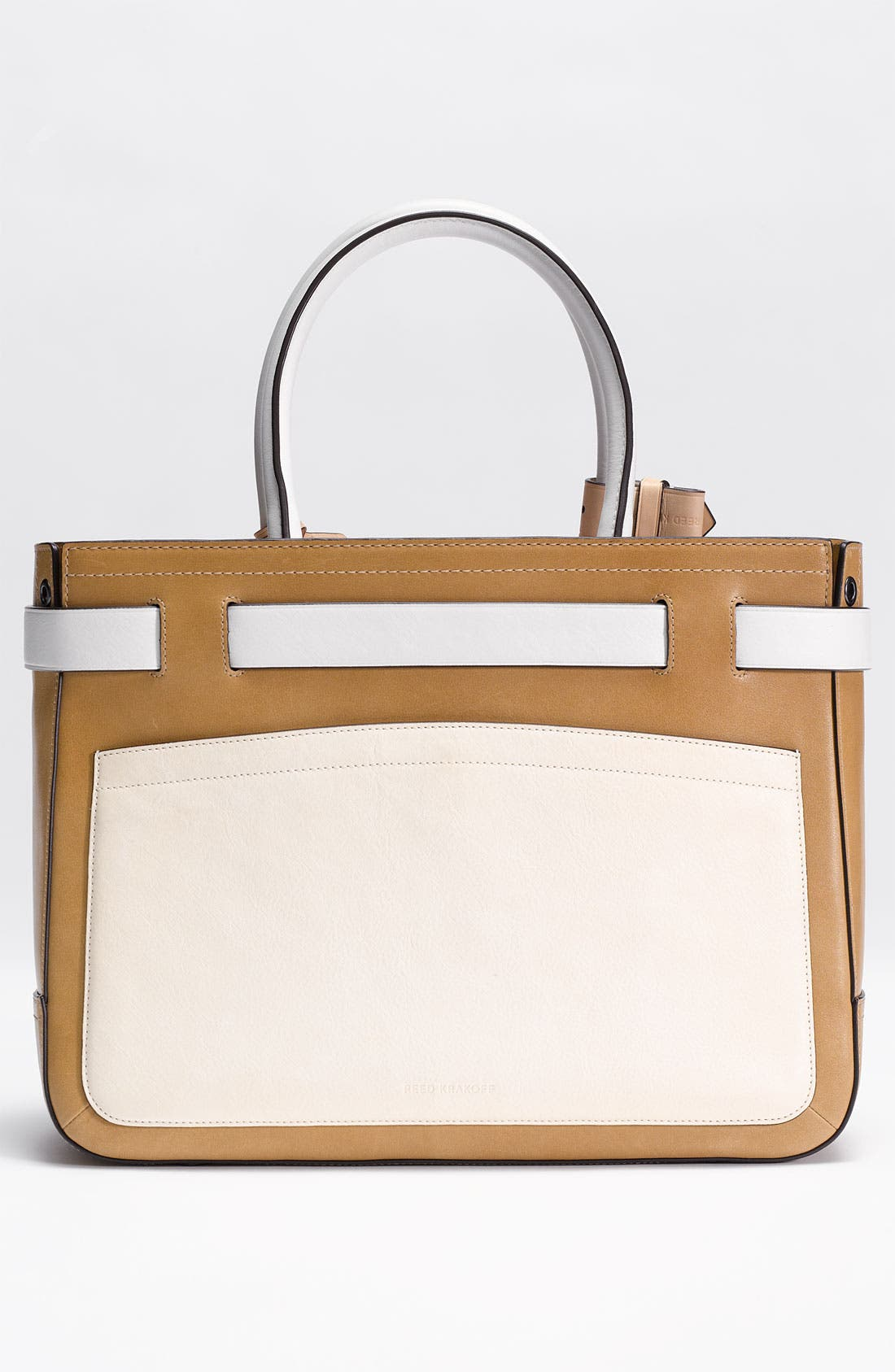 Alternate Image 4  - Reed Krakoff 'Boxer' Tricolor Leather Satchel