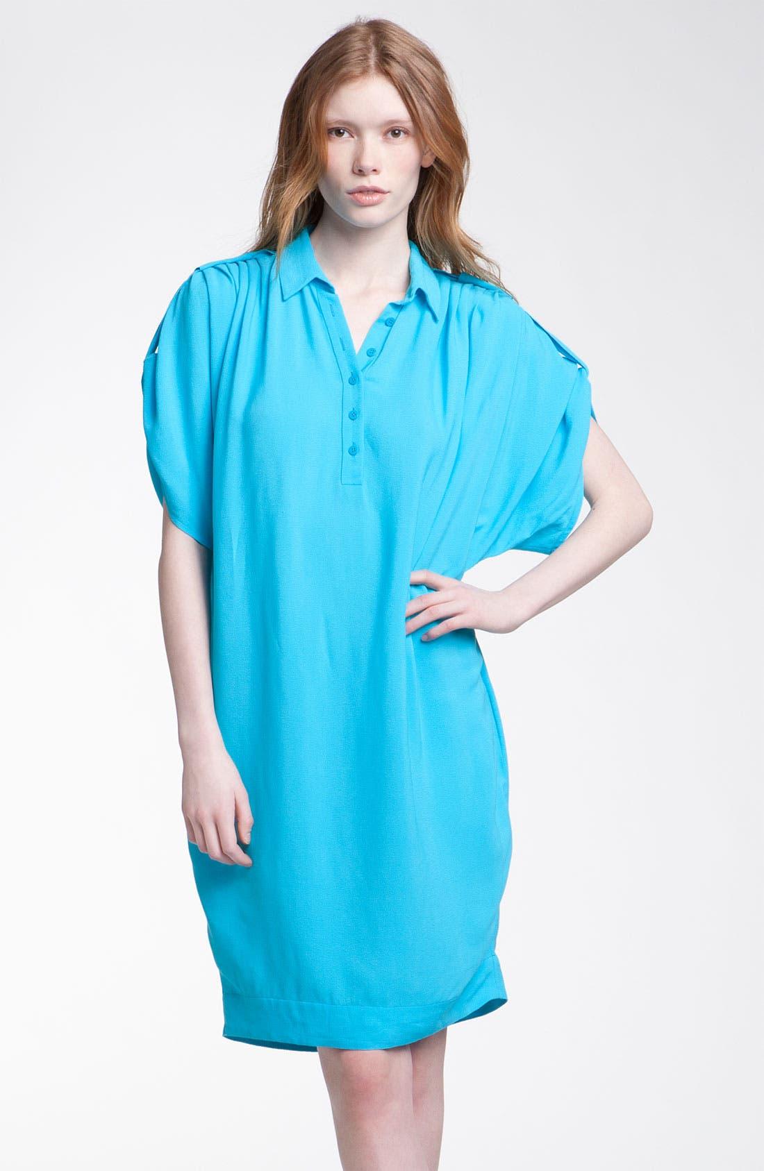 Alternate Image 1 Selected - Diane von Furstenberg 'Karin' Oversized Shirtdress