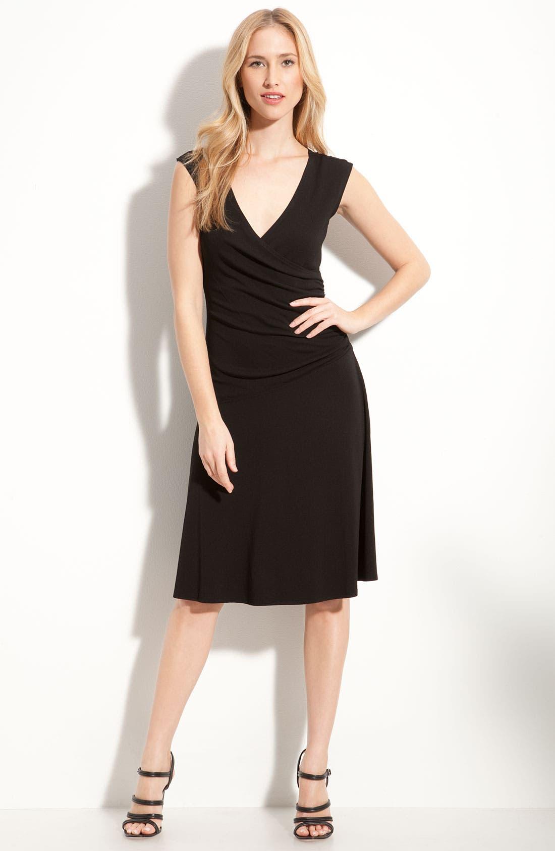 Main Image - Nic + Zoe Sleeveless Matte Jersey Dress (Petite)