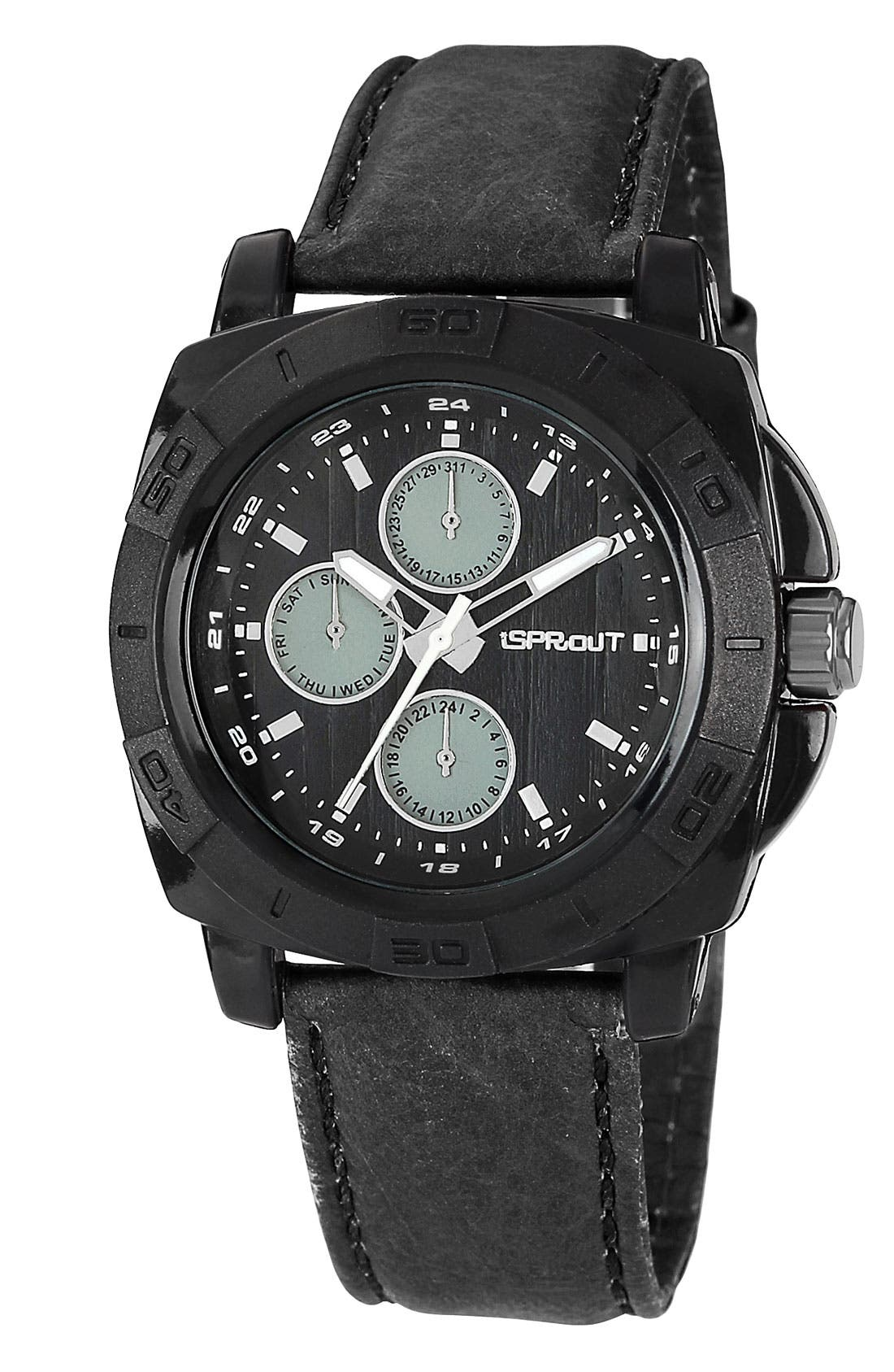 Alternate Image 1 Selected - SPROUT™ Watches Round Dial Strap Watch, 41mm