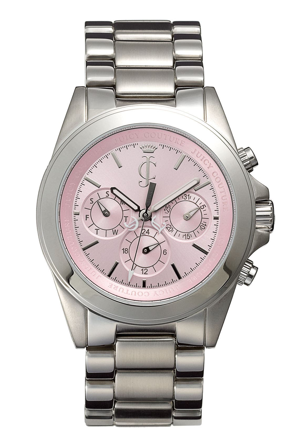 Alternate Image 1 Selected - Juicy Couture 'Stella' Multifunction Bracelet Watch