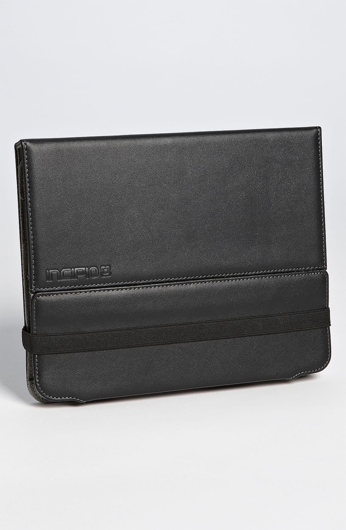 Alternate Image 1 Selected - Incipio 'Executive Premium Kickstand' iPad 2 Case