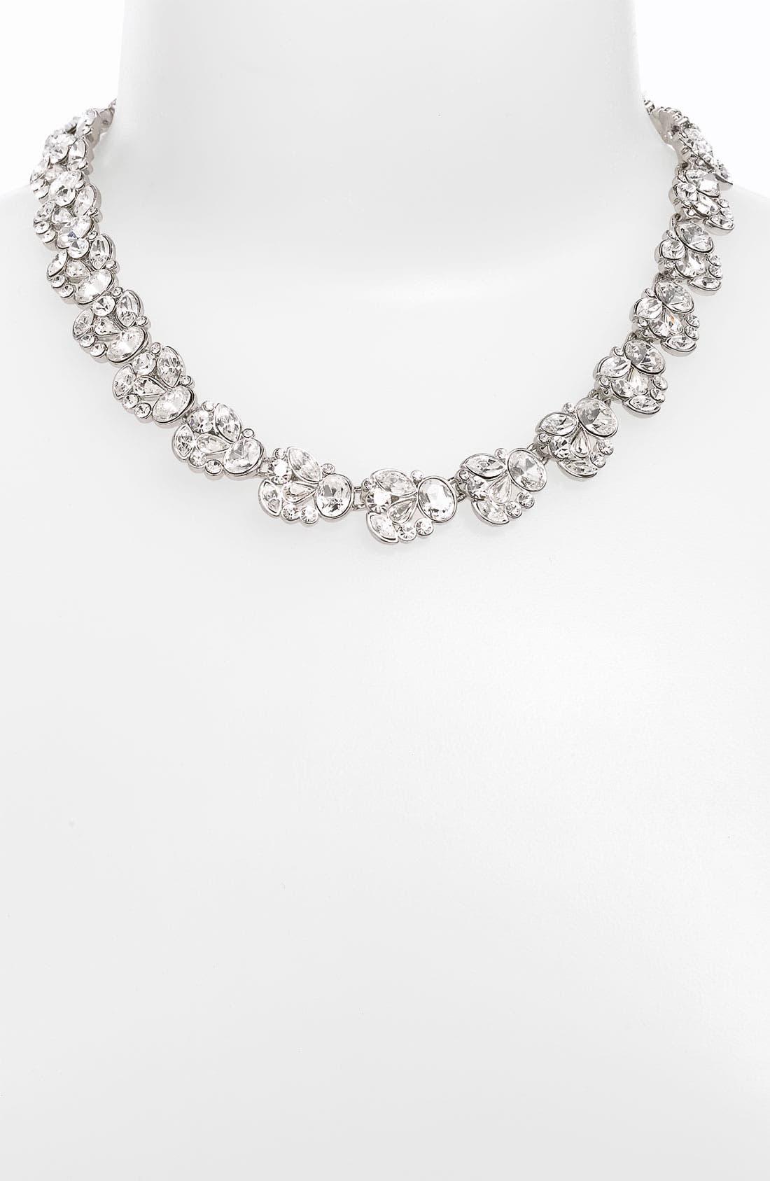 Alternate Image 1 Selected - Nina 'Nanette' Floral Collar Necklace