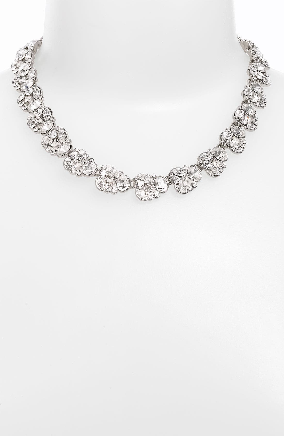 Main Image - Nina 'Nanette' Floral Collar Necklace