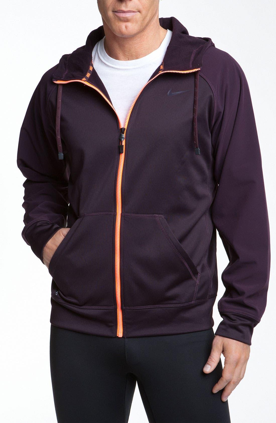 Main Image - Nike 'TKO Shield' Zip Hoodie