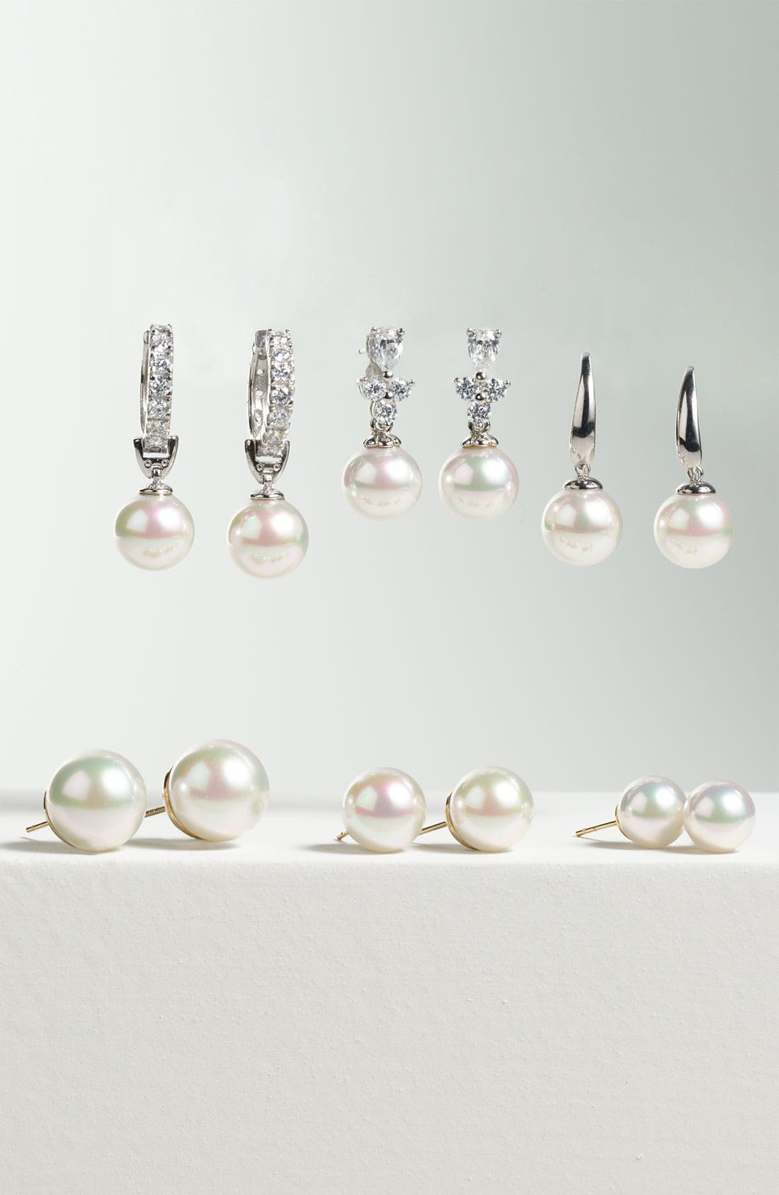 Alternate Image 3  - Majorica 10mm Pearl Drop Earrings