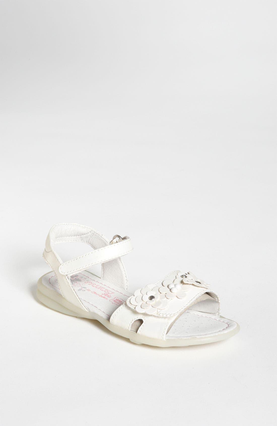 Alternate Image 1 Selected - Primigi 'Delsie' Sandal (Toddler)