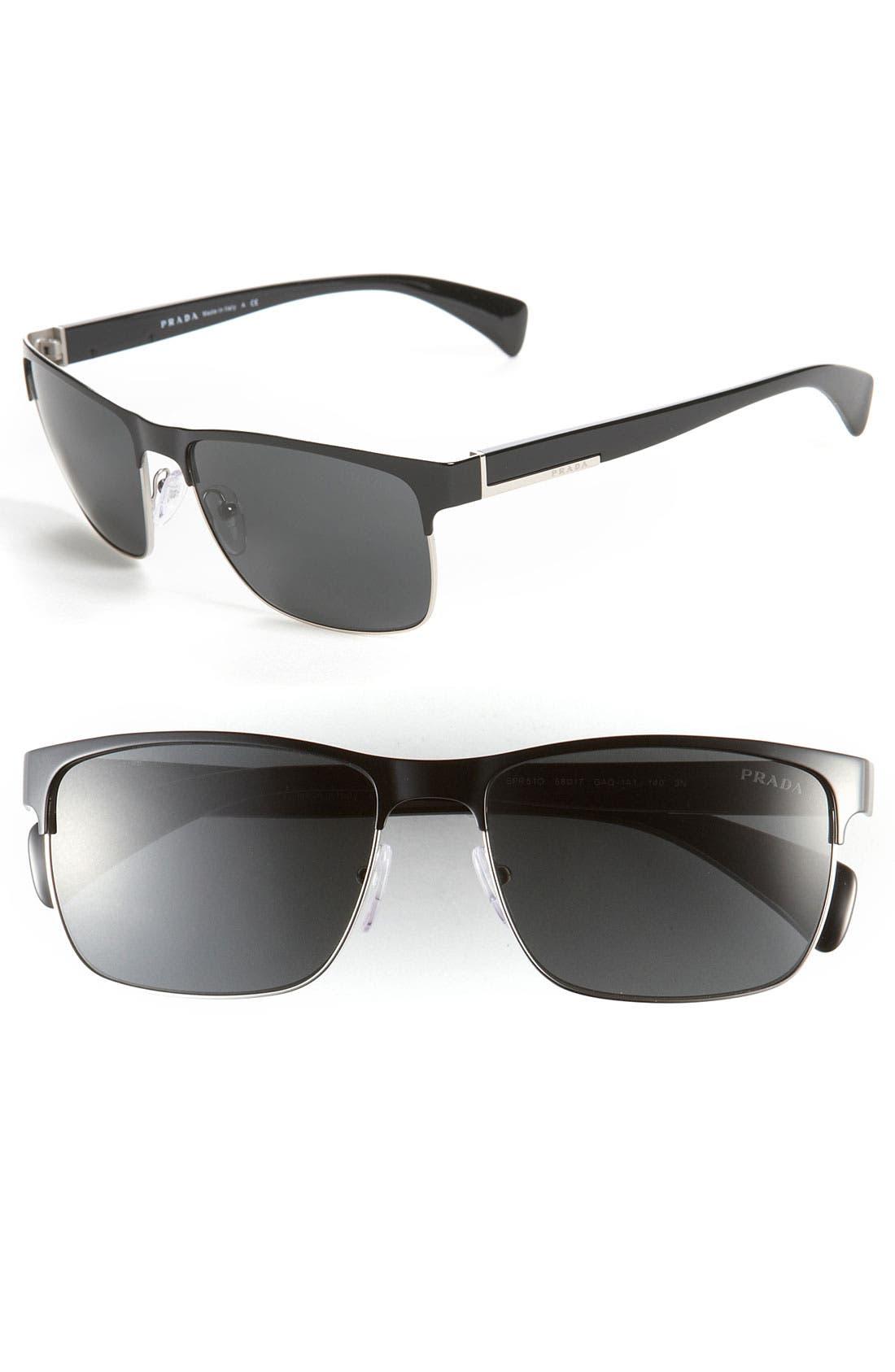 Alternate Image 1 Selected - Prada 58mm Sunglasses