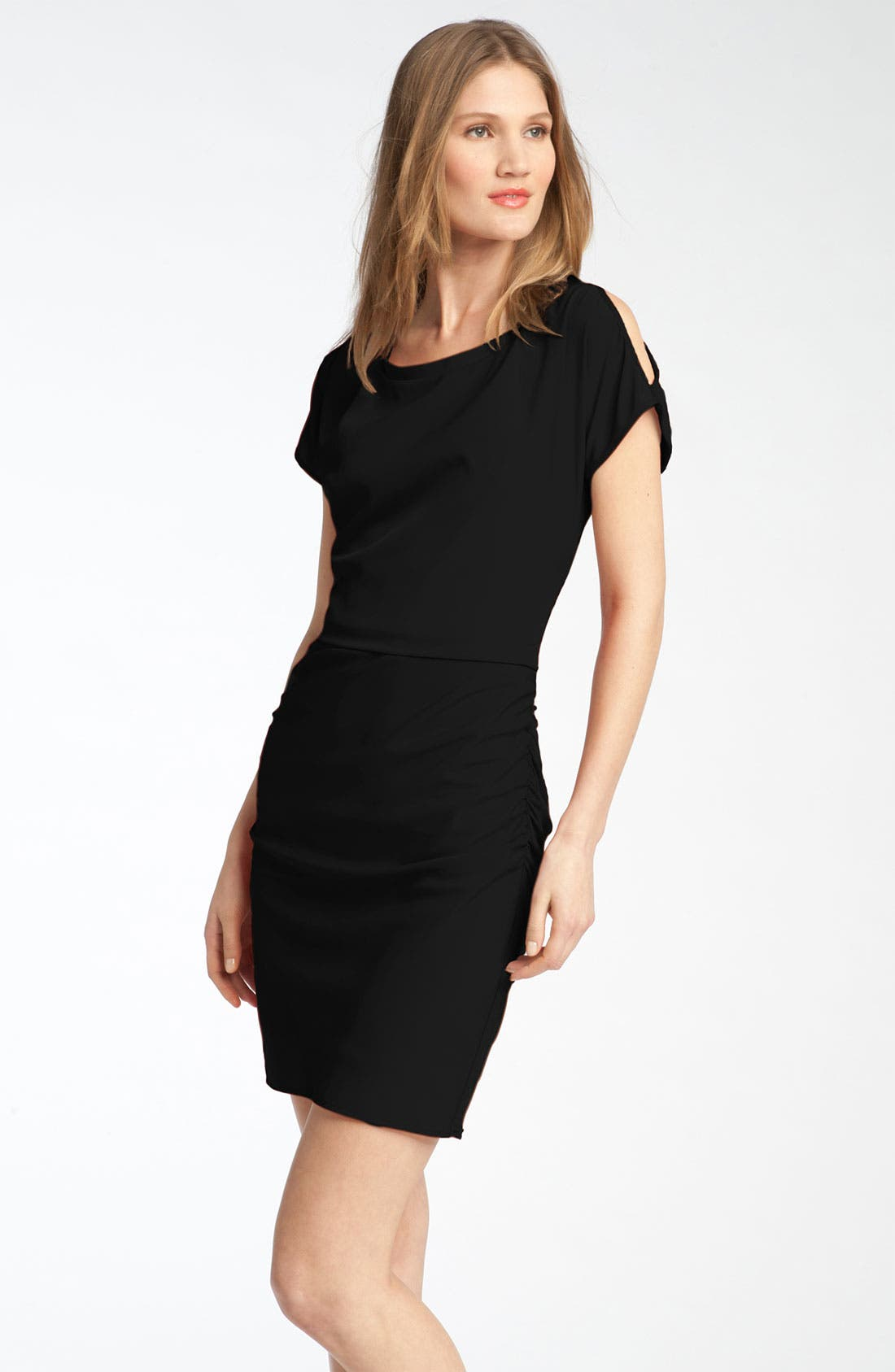 Alternate Image 1 Selected - Jessica Simpson Split Sleeve Sheath Dress