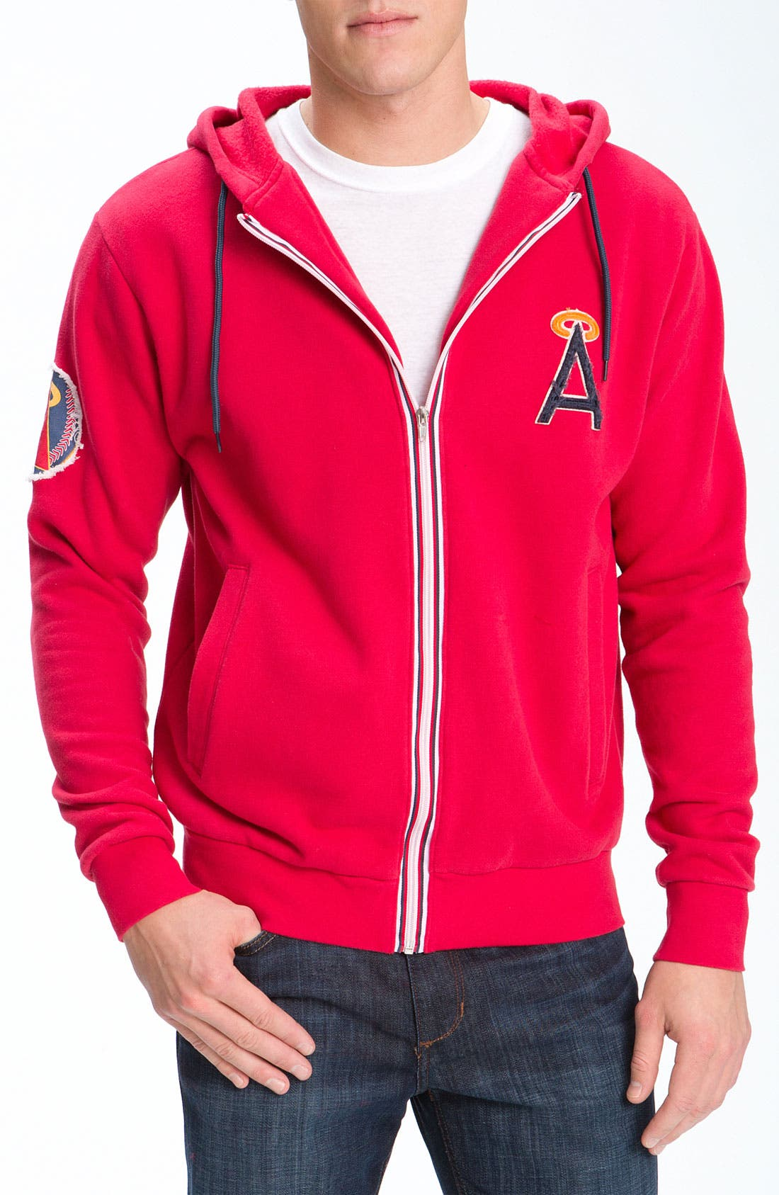 Alternate Image 1 Selected - Wright & Ditson 'Los Angeles Angels of Anaheim' Hoodie