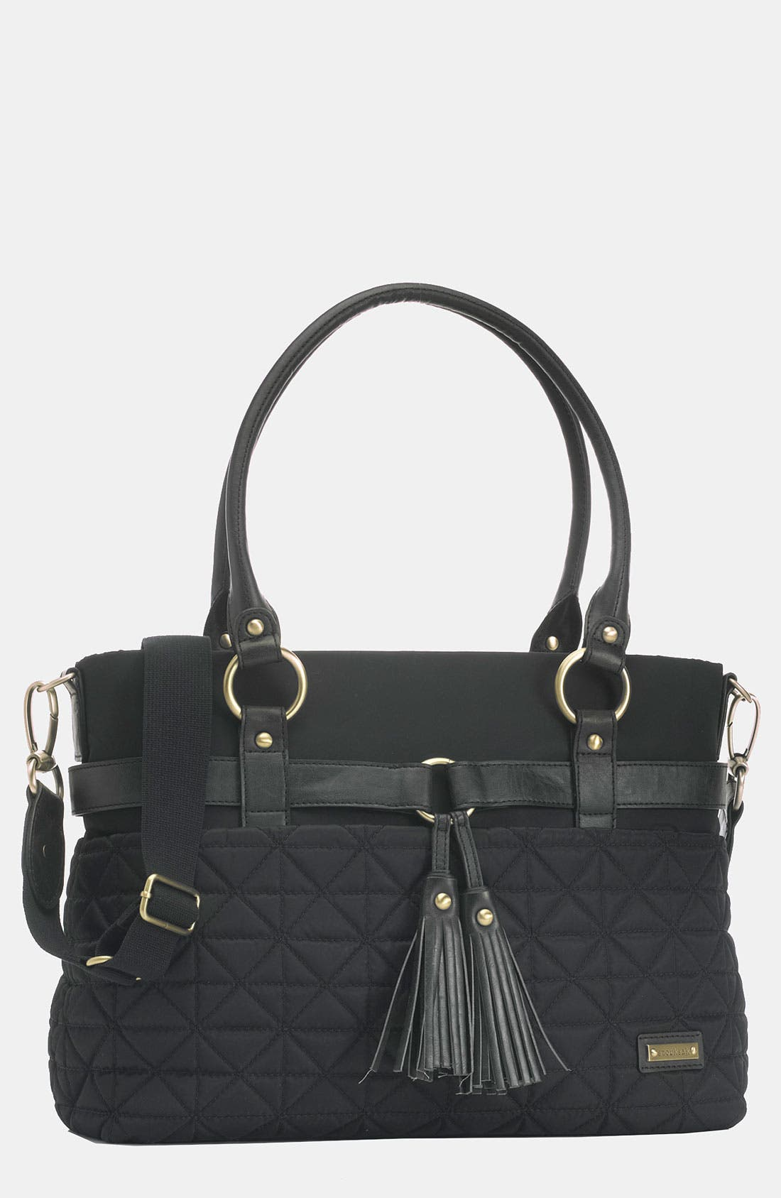 Alternate Image 1 Selected - Storksak 'Isabella' Nylon Diaper Bag