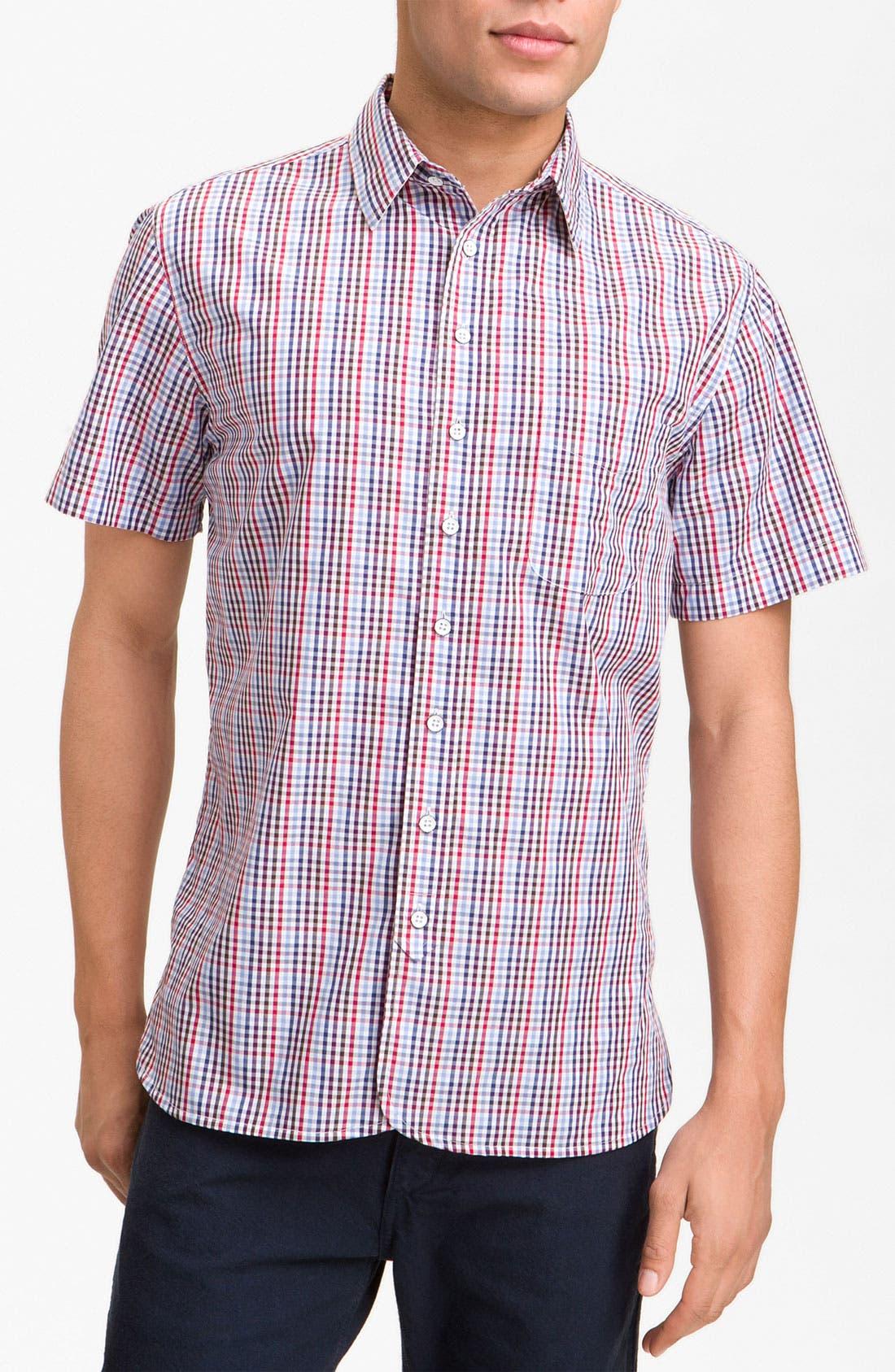 Alternate Image 1 Selected - rag & bone Check Woven Shirt