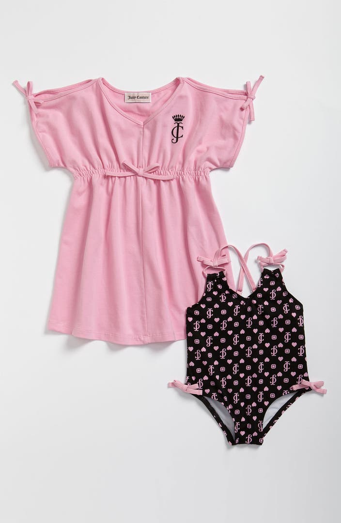 Juicy couture one piece swimsuit cover up infant for Canopy couture