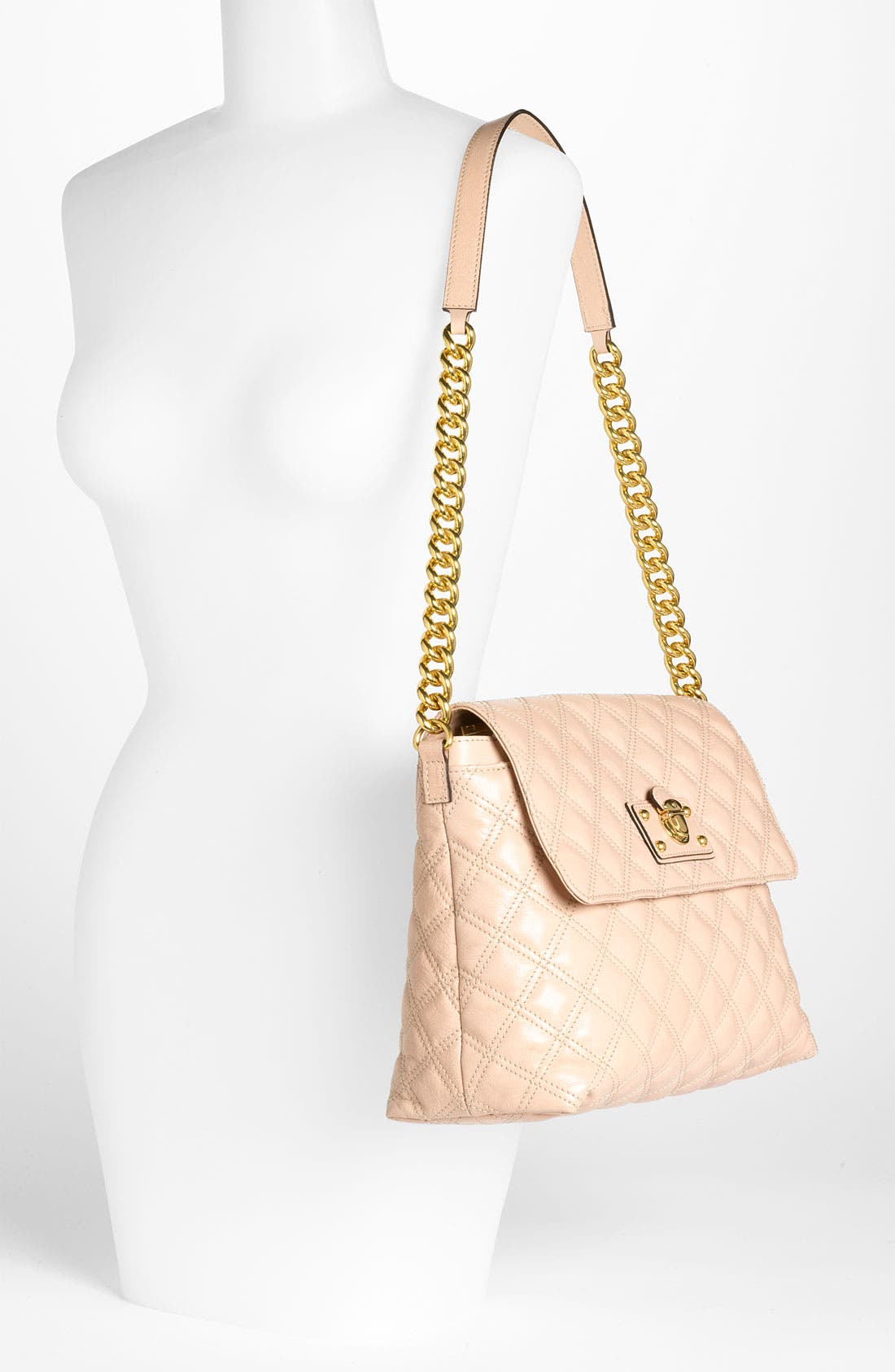 Alternate Image 2  - MARC JACOBS 'The XL Single' Leather Shoulder Bag