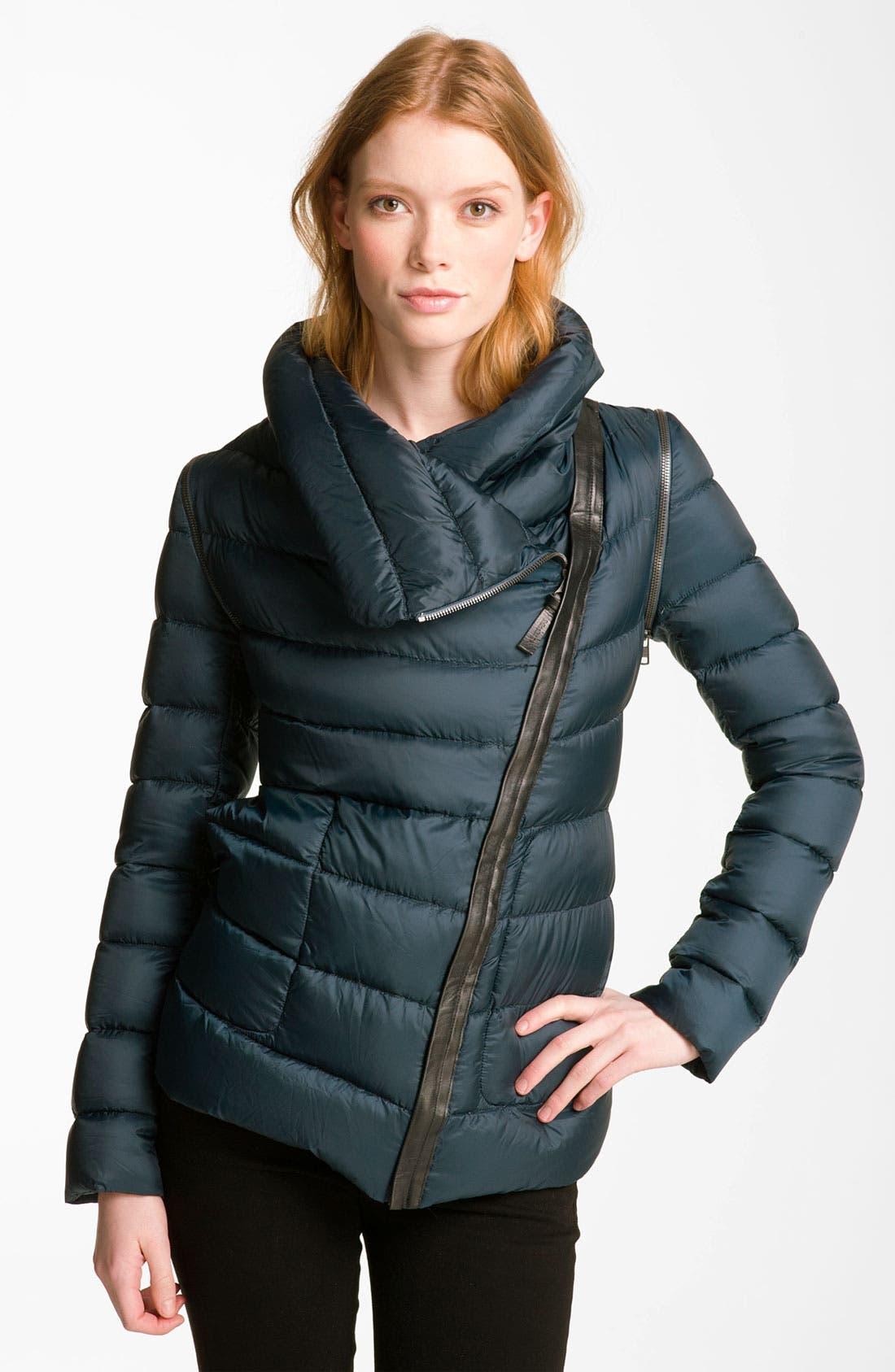 Alternate Image 1 Selected - Mackage Asymmetrical Zip Down Jacket