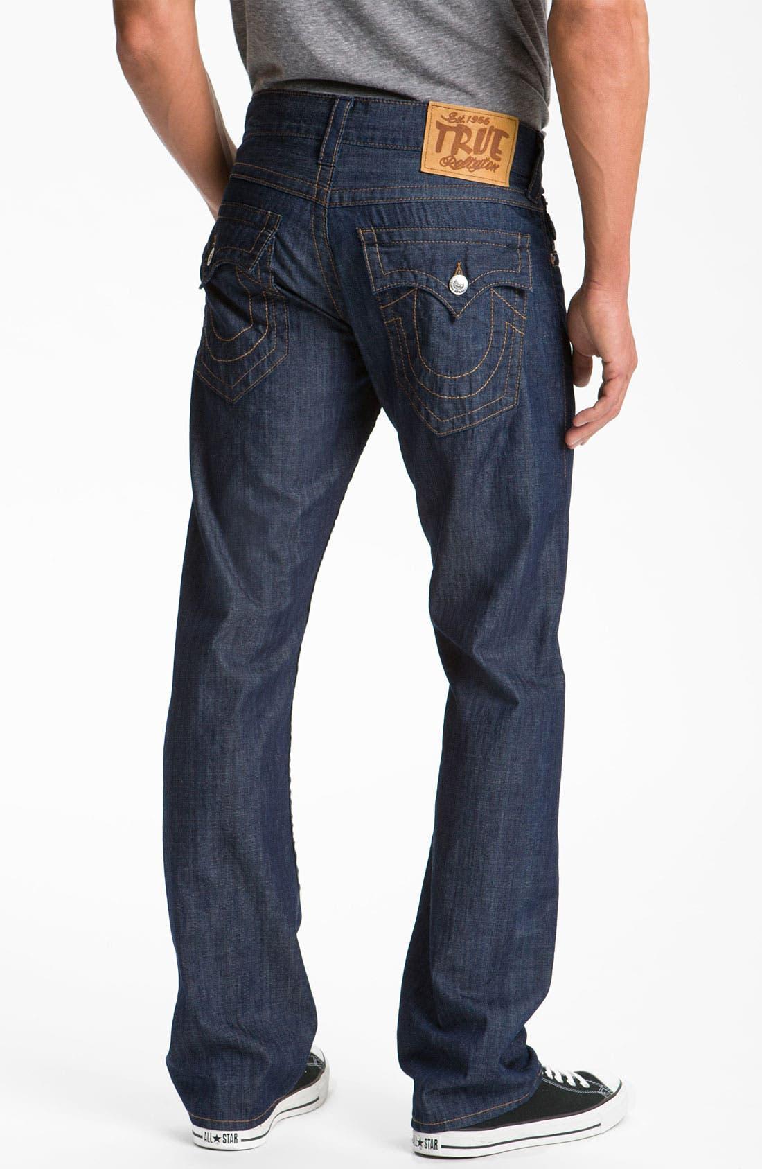 Main Image - True Religion Brand Jeans 'Ricky' Straight Leg Jeans (2S Bodyrinse)