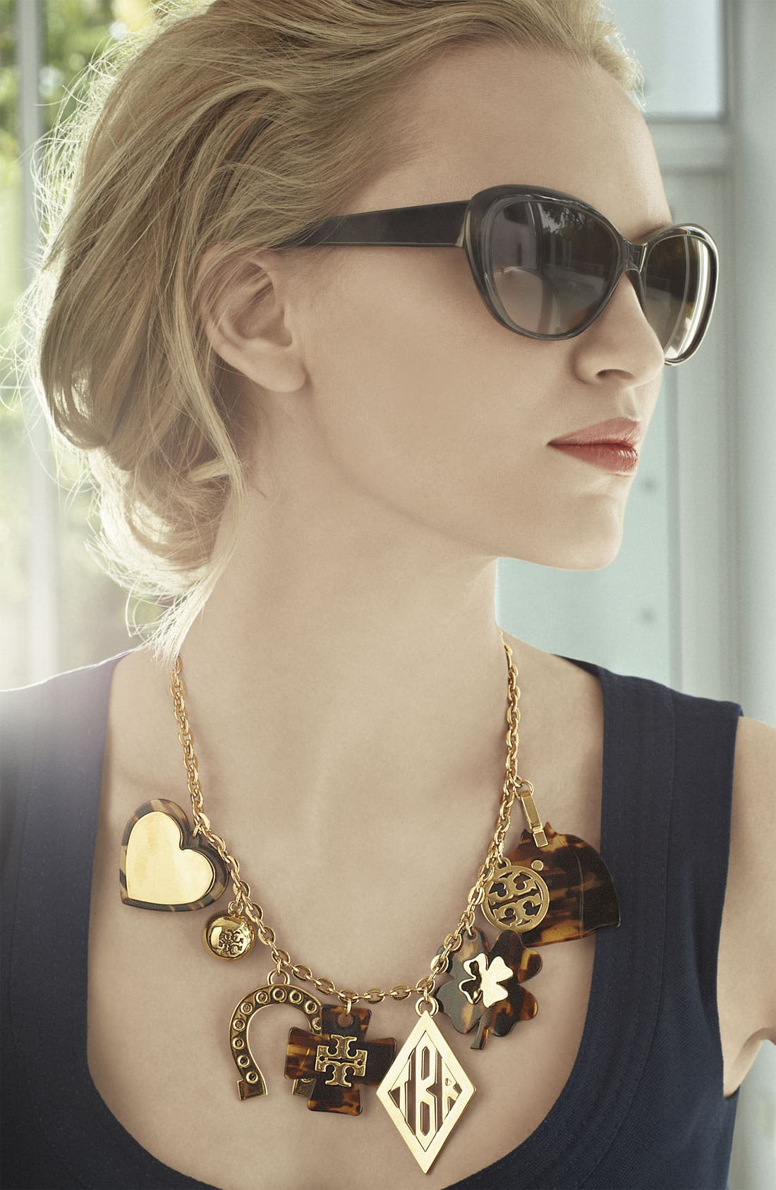 Alternate Image 2  - Tory Burch 'Tilsim' Equestrian Charm Necklace