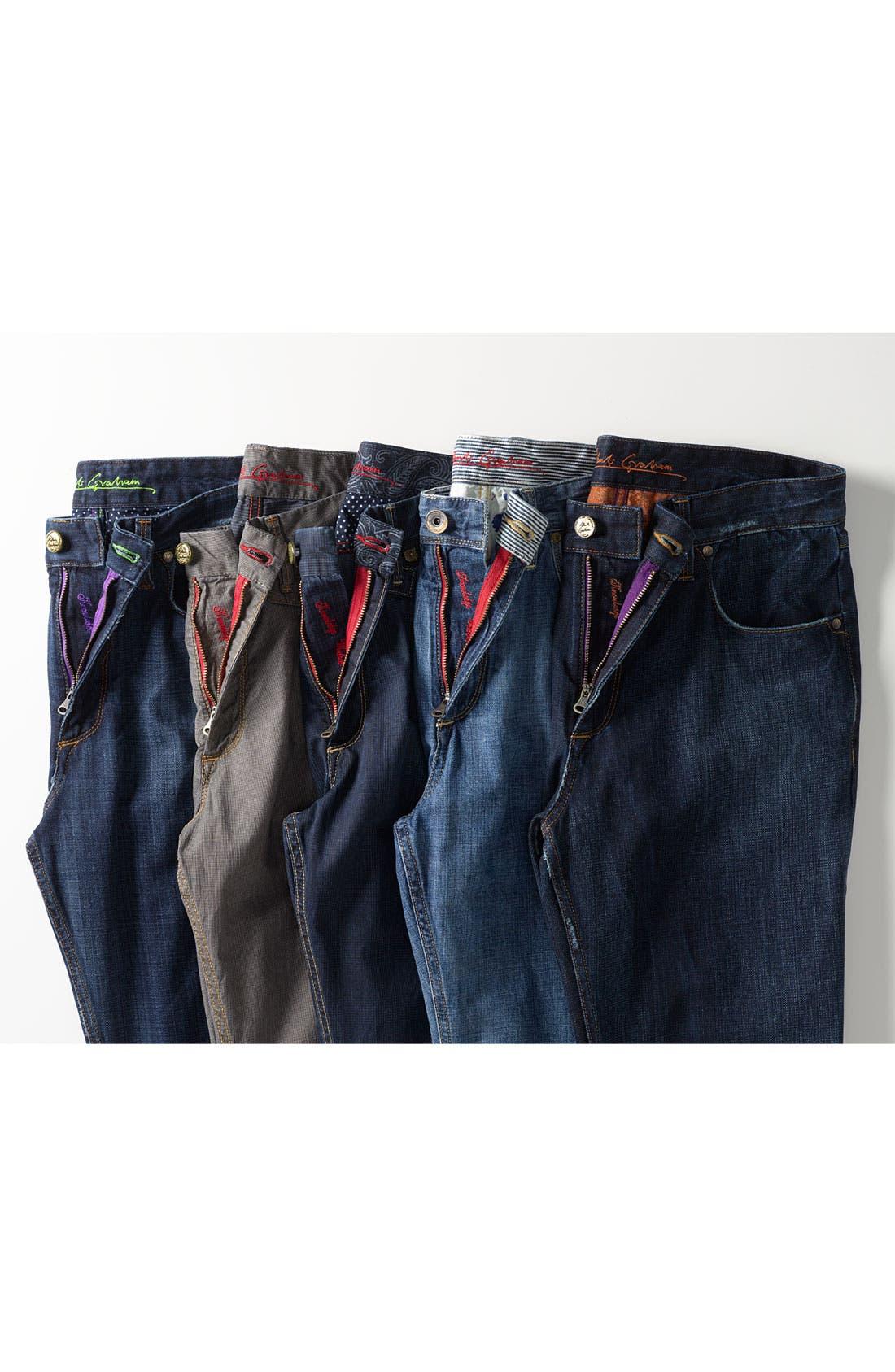 Alternate Image 7  - Robert Graham Jeans 'Yates' Classic Fit Jeans (Atlantic)