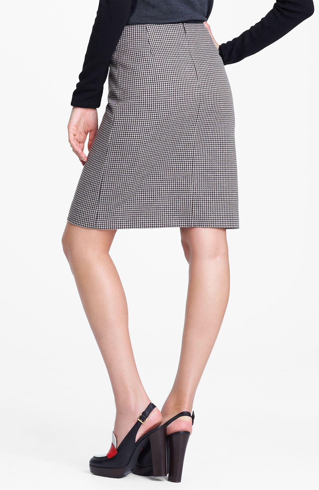 Alternate Image 3  - Marni Edition Houndstooth Pencil Skirt