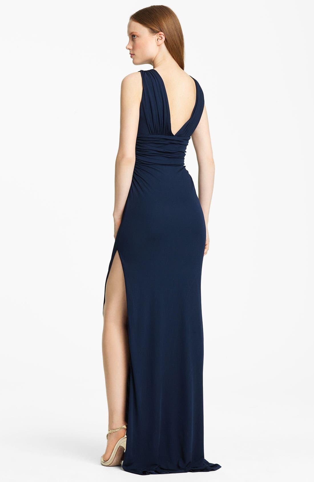 Alternate Image 2  - Roberto Cavalli Embellished Jersey Gown