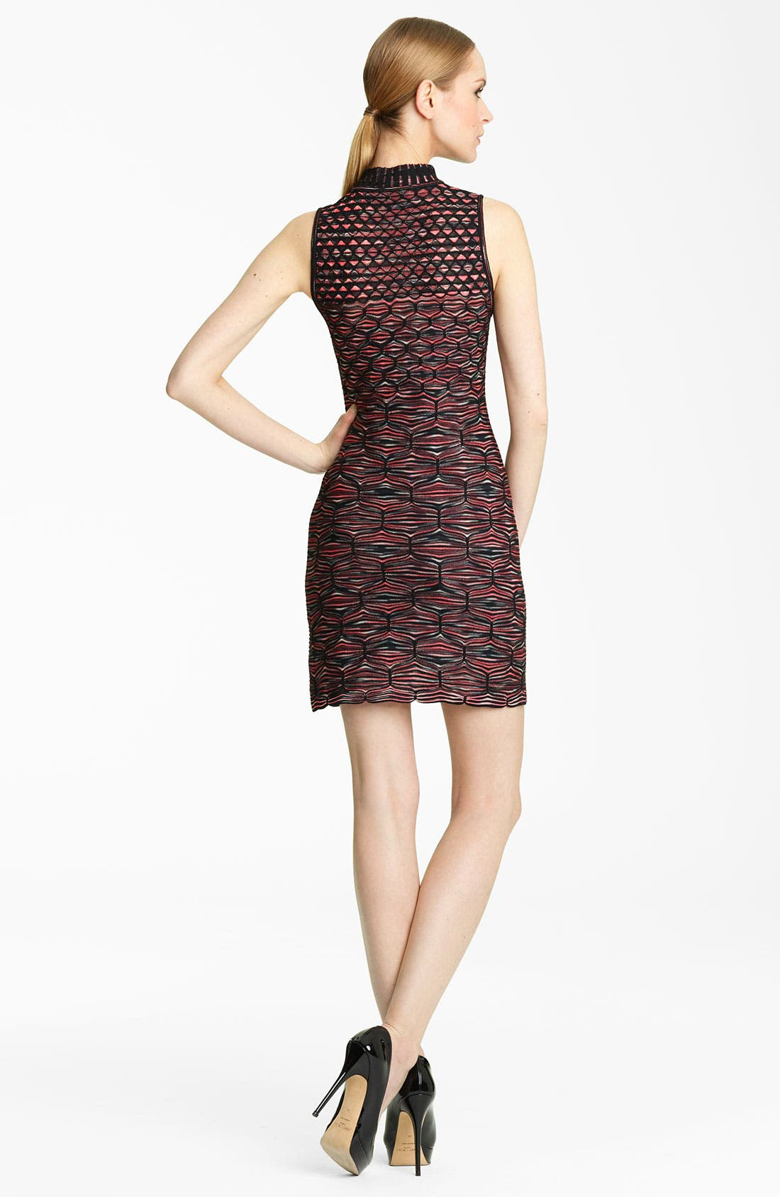Alternate Image 2  - Missoni Mock Neck Knit Dress