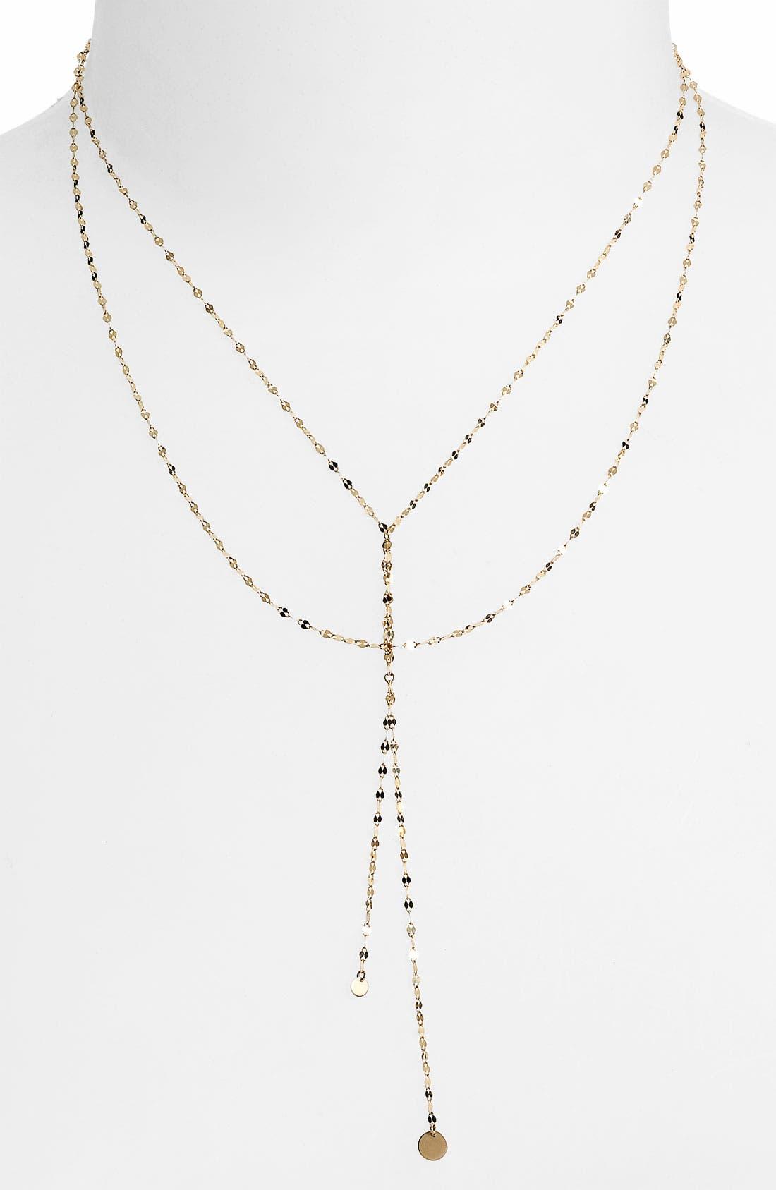 Alternate Image 1 Selected - Lana Jewelry 'Petite Blake' Lariat Necklace