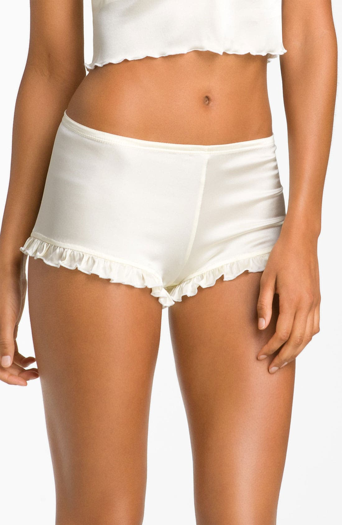 Alternate Image 1 Selected - Zinke 'Tulsa' Silk Charmeuse Boyshorts