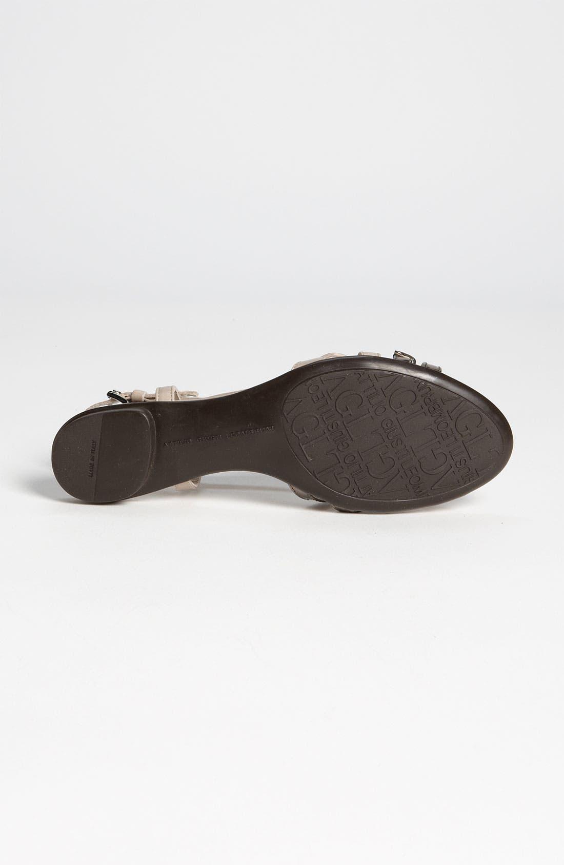 Alternate Image 4  - Attilio Giusti Leombruni Belted Sandal