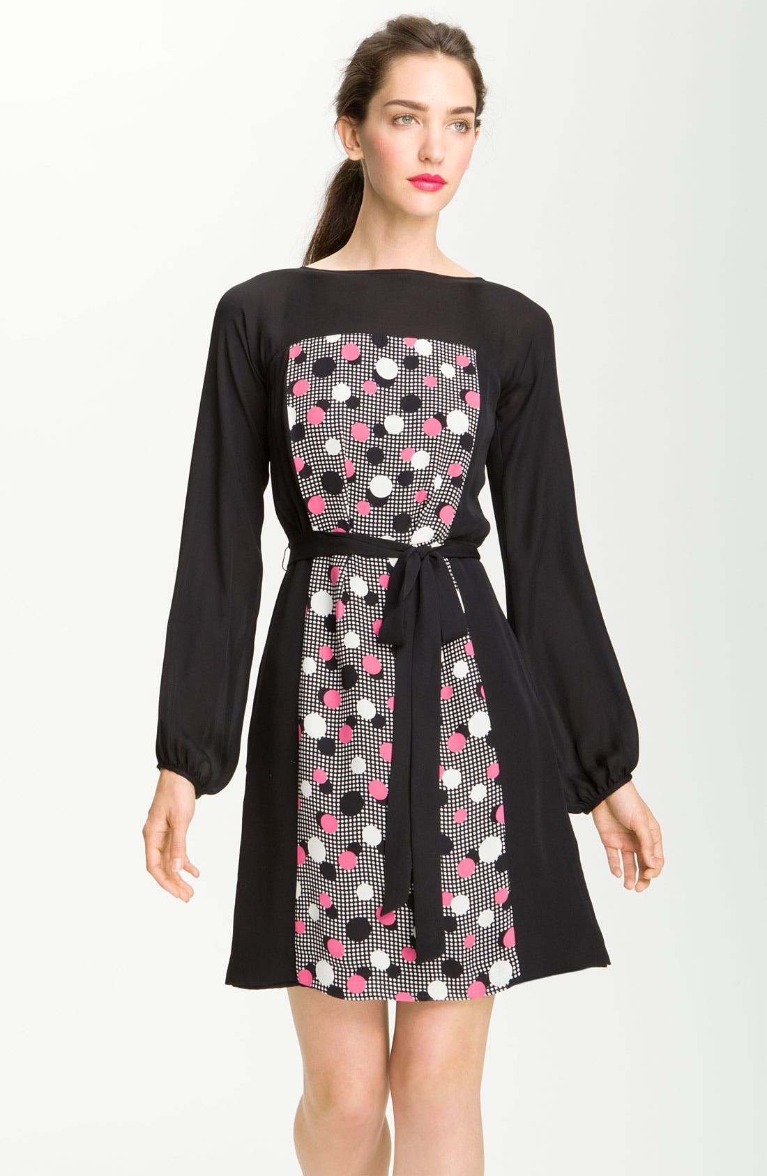 Main Image - Milly 'Deco Dots' Print Dress
