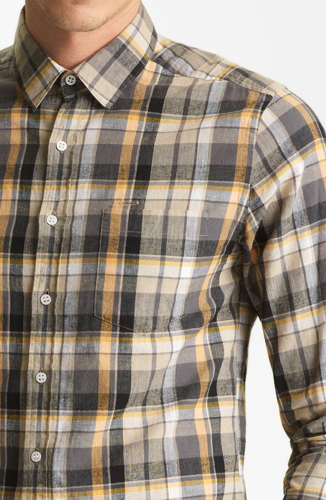 Alternate Image 3  - Shipley & Halmos 'Marine' Washed Woven Shirt