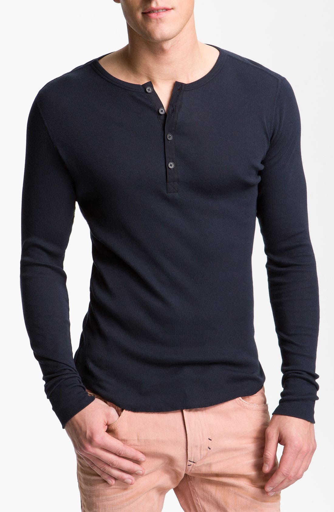 Alternate Image 1 Selected - Vince Long Sleeve Henley