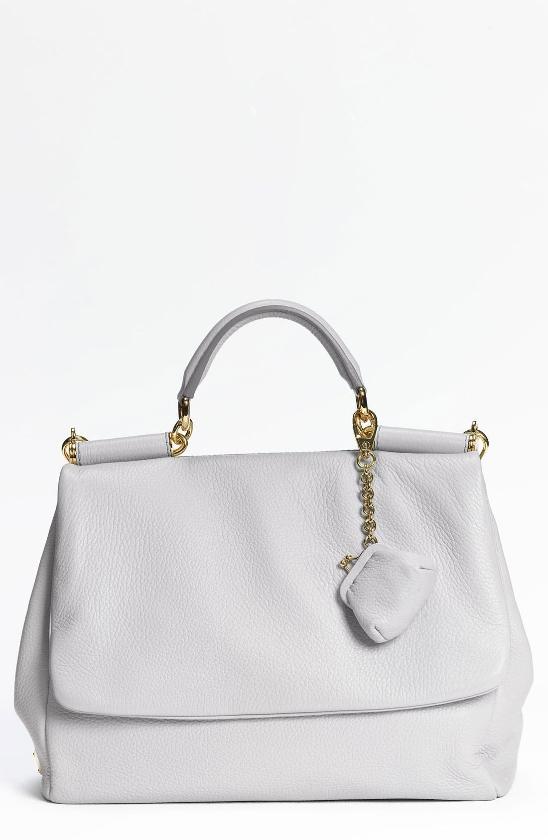 Main Image - Dolce&Gabbana 'Miss Sicily Soft' Leather Satchel