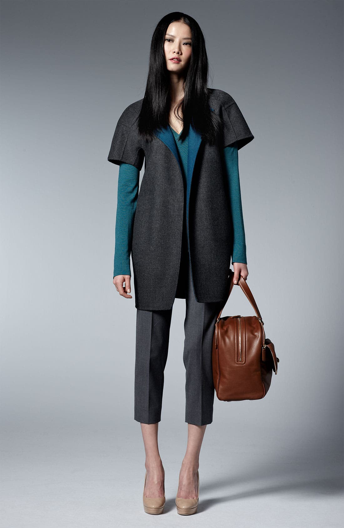 Alternate Image 3  - Piazza Sempione Wool & Silk Knit Top