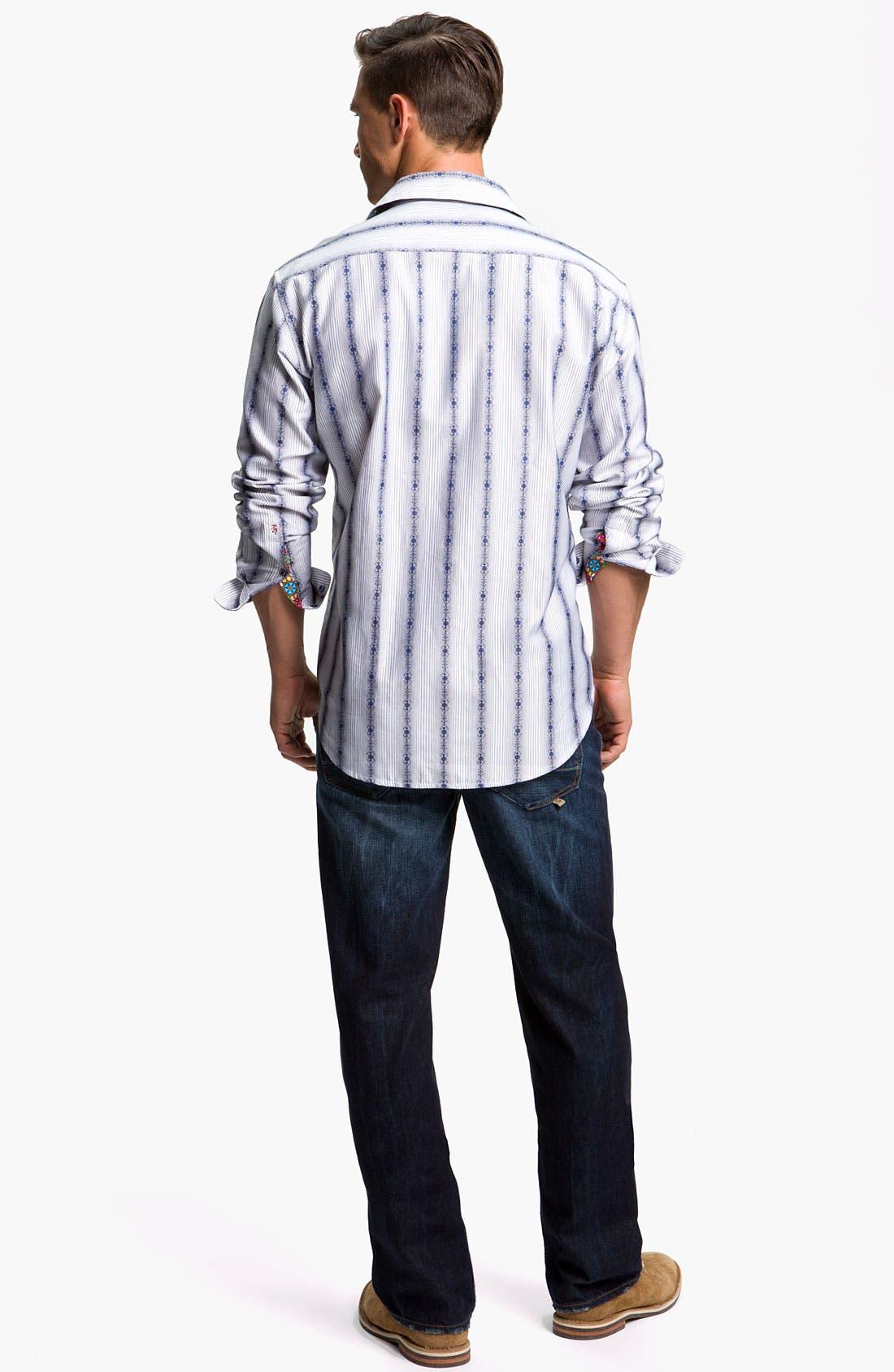Alternate Image 5  - Robert Graham Jeans 'Yates' Classic Fit Jeans (Atlantic)