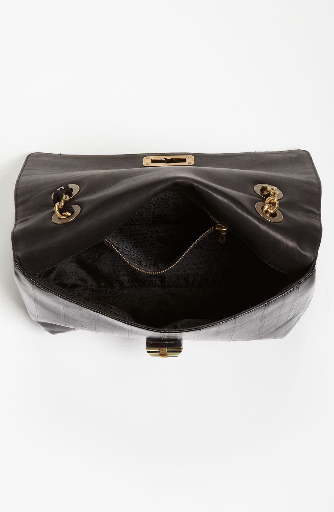 Alternate Image 3  - Lanvin 'Happy' Glazed Leather Shoulder Bag