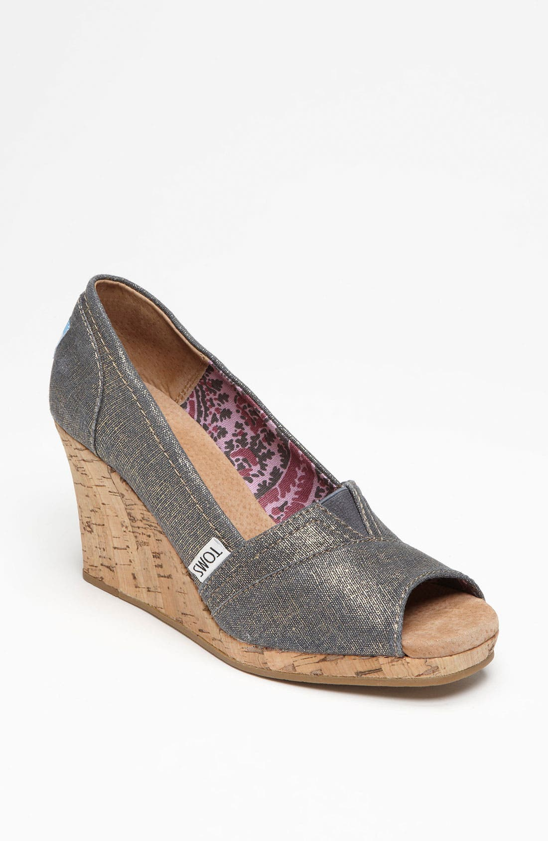 Main Image - TOMS 'Azar' Wedge
