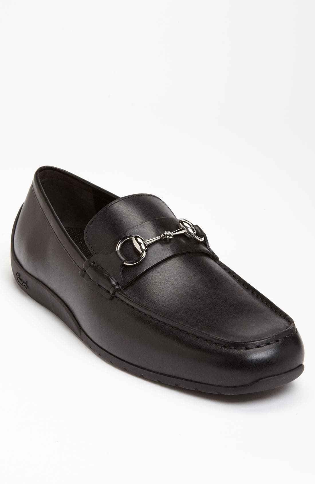 Alternate Image 1 Selected - Gucci 'Silverstone' Moccasin Loafer